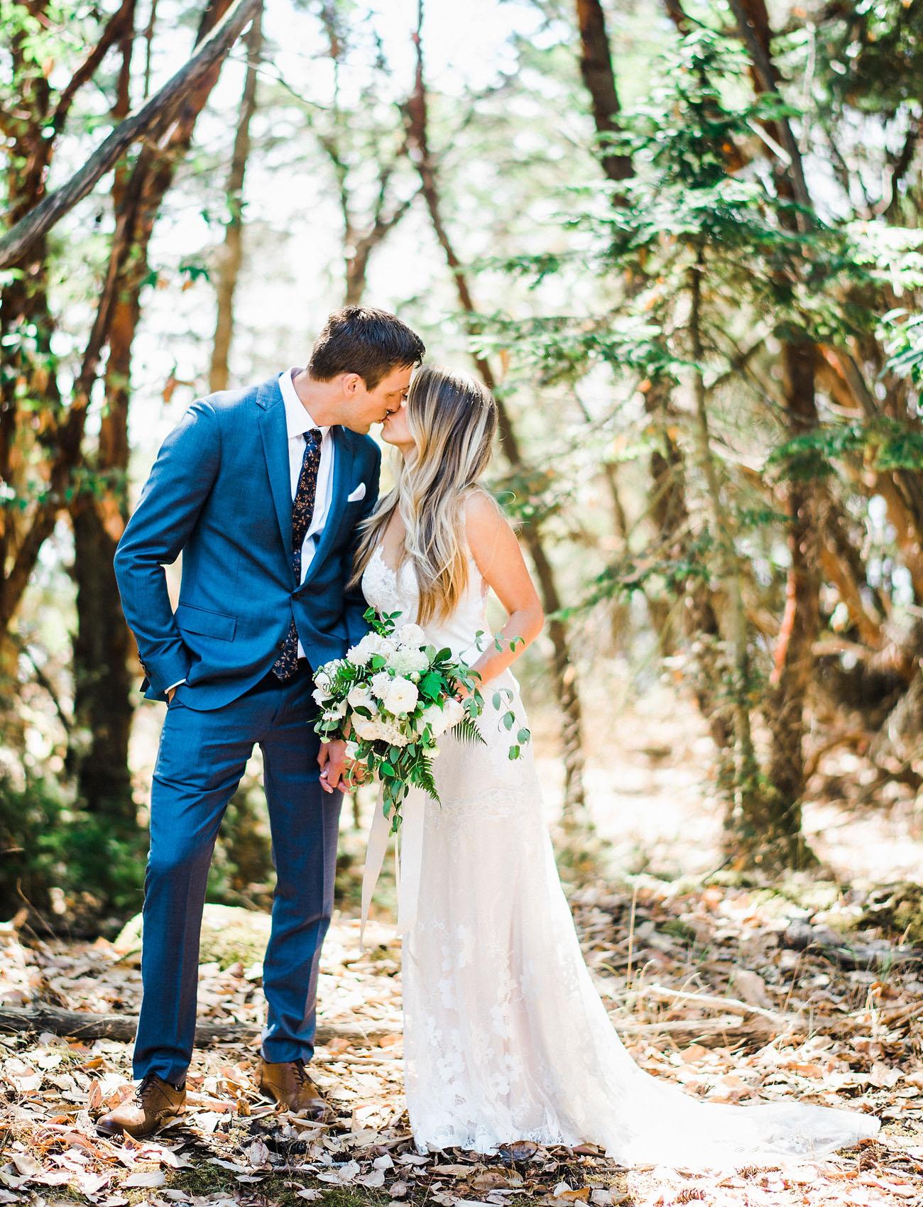 Organic Island Wedding