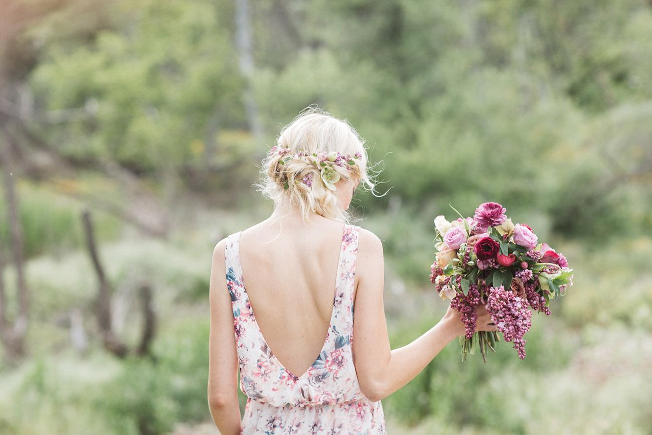 green wedding shoes bridesmaid dress back