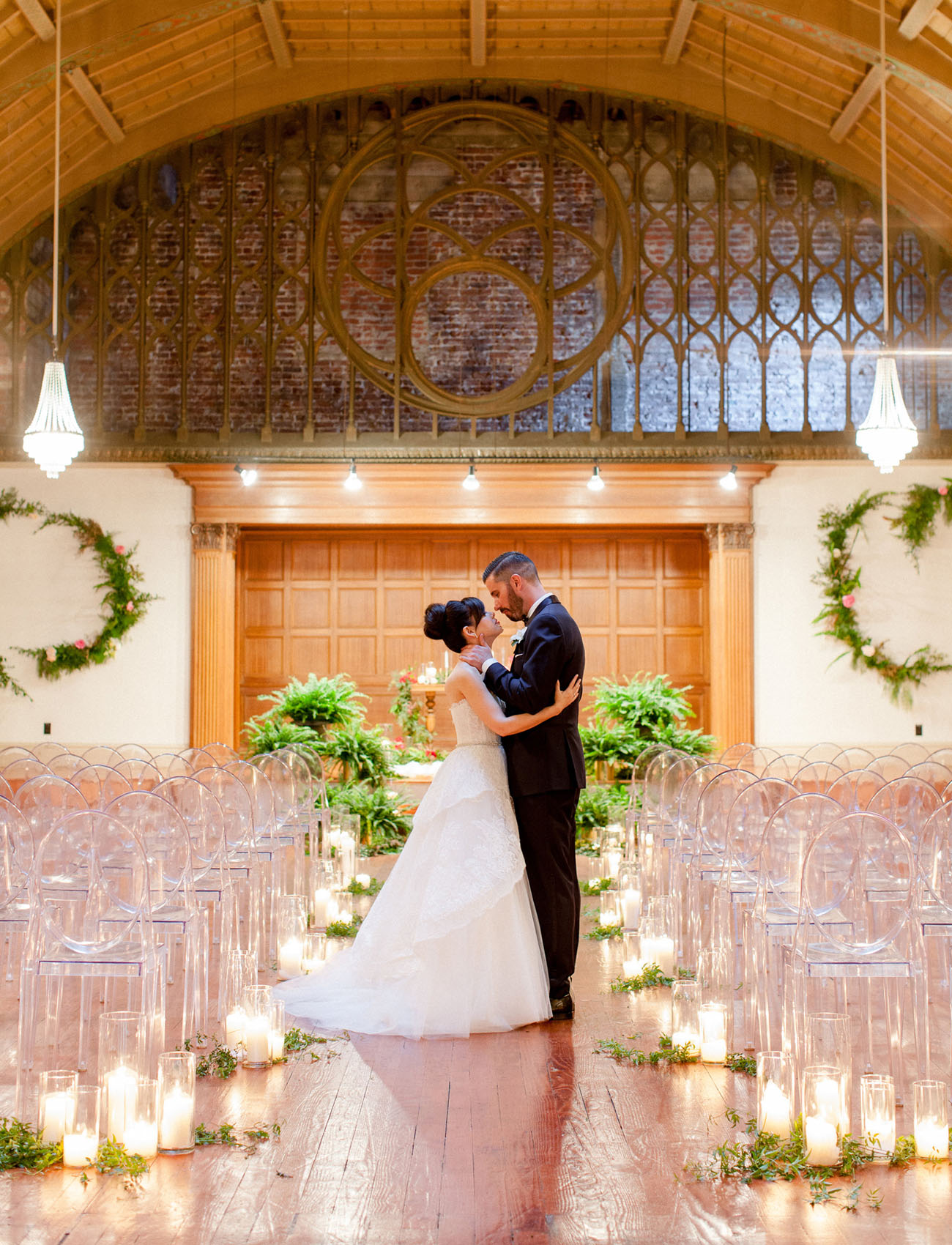 Modern Loft on Pine Wedding