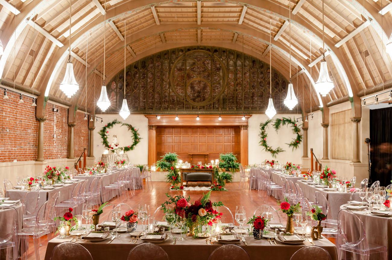 wreath backdrops