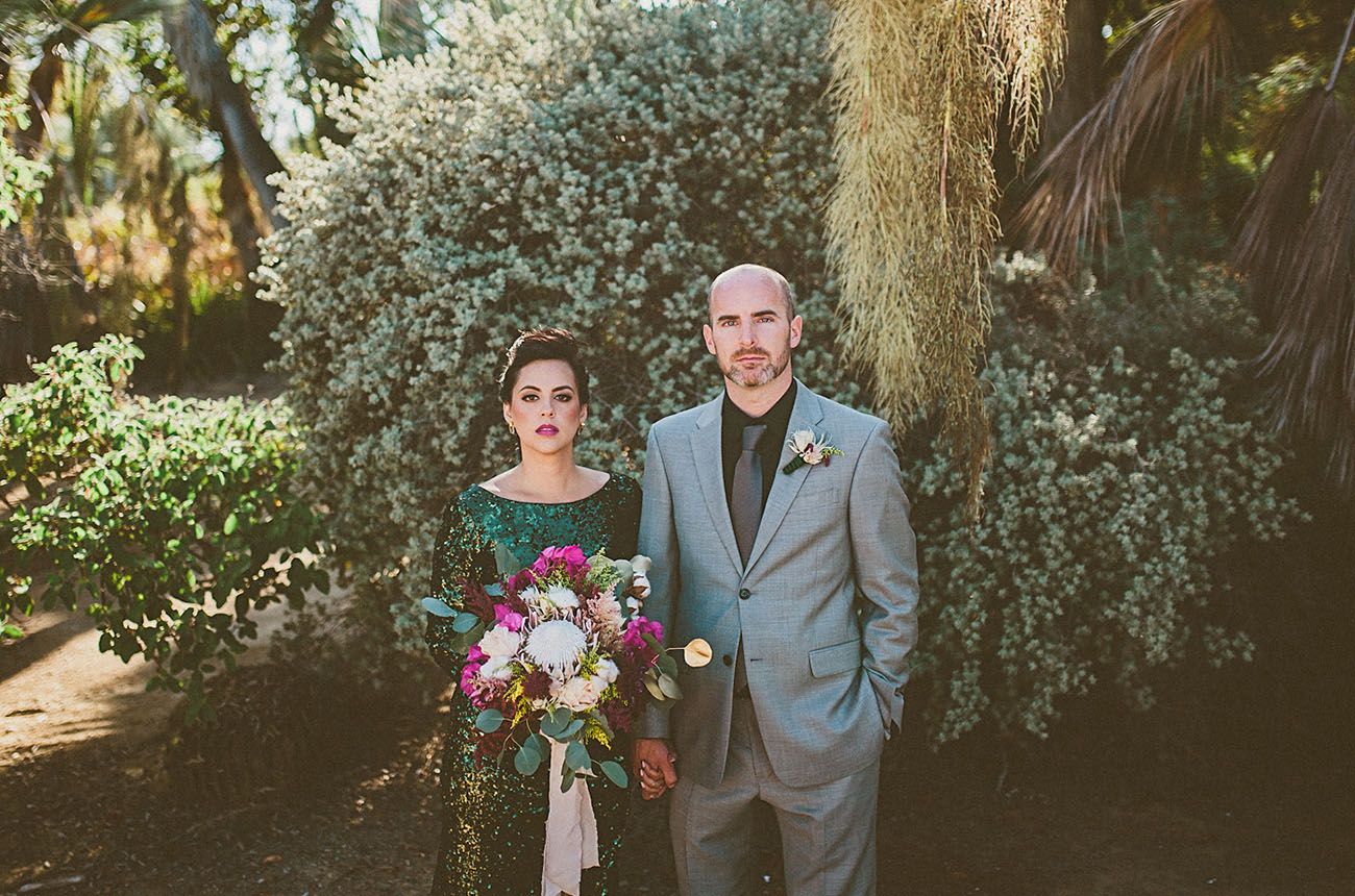 Mid Century Modern Wedding