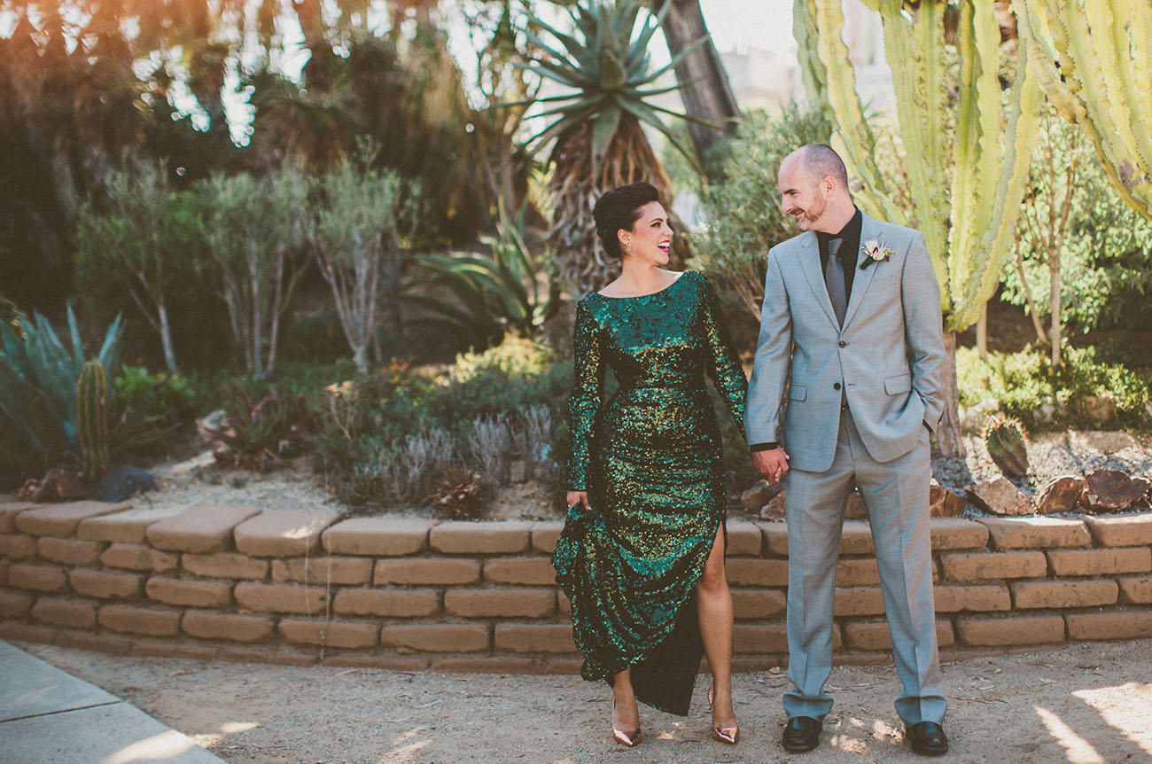 Mid Century Modern Wedding