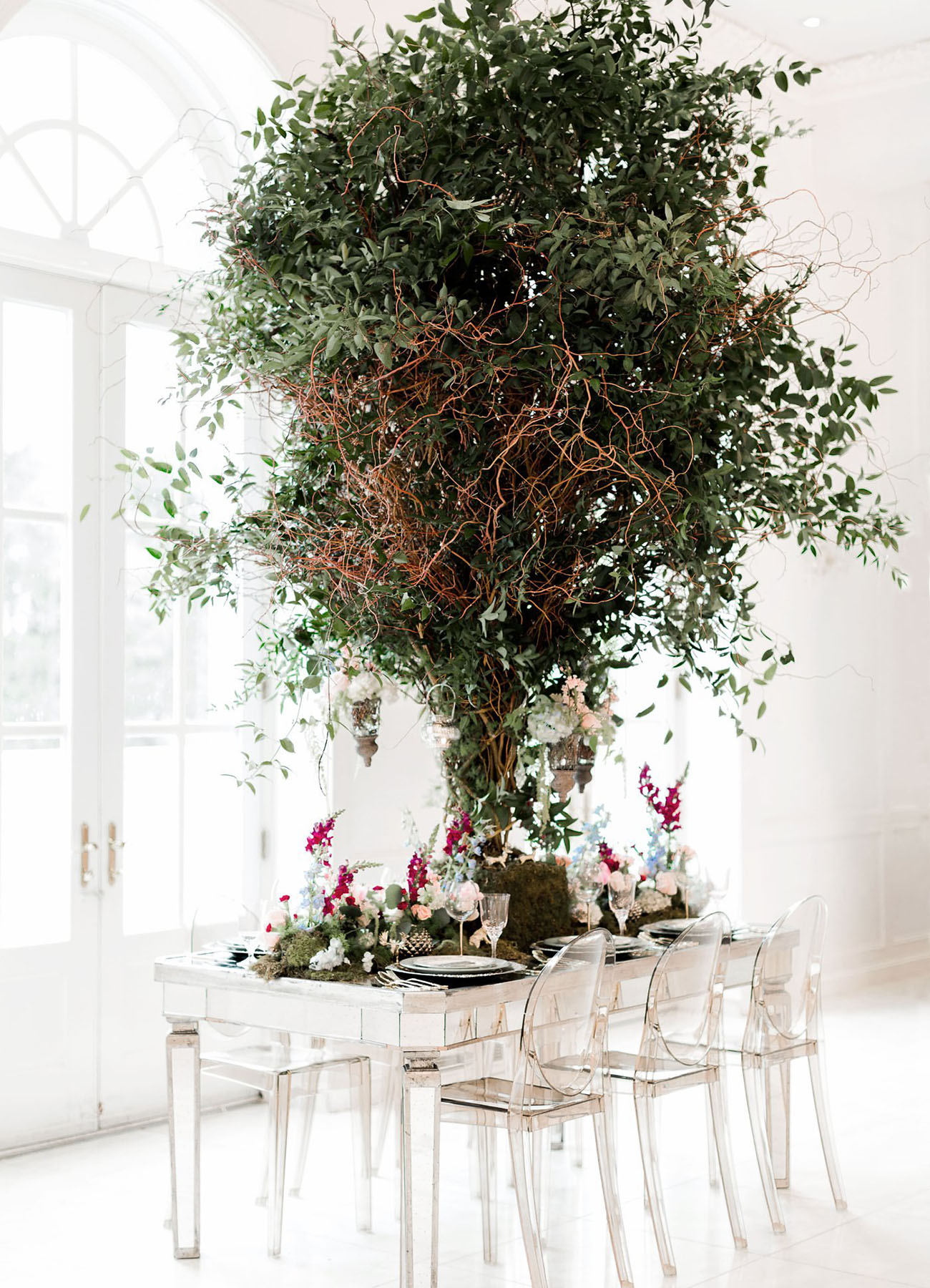 Modern Midsummer Night's Dream Wedding Inspiration