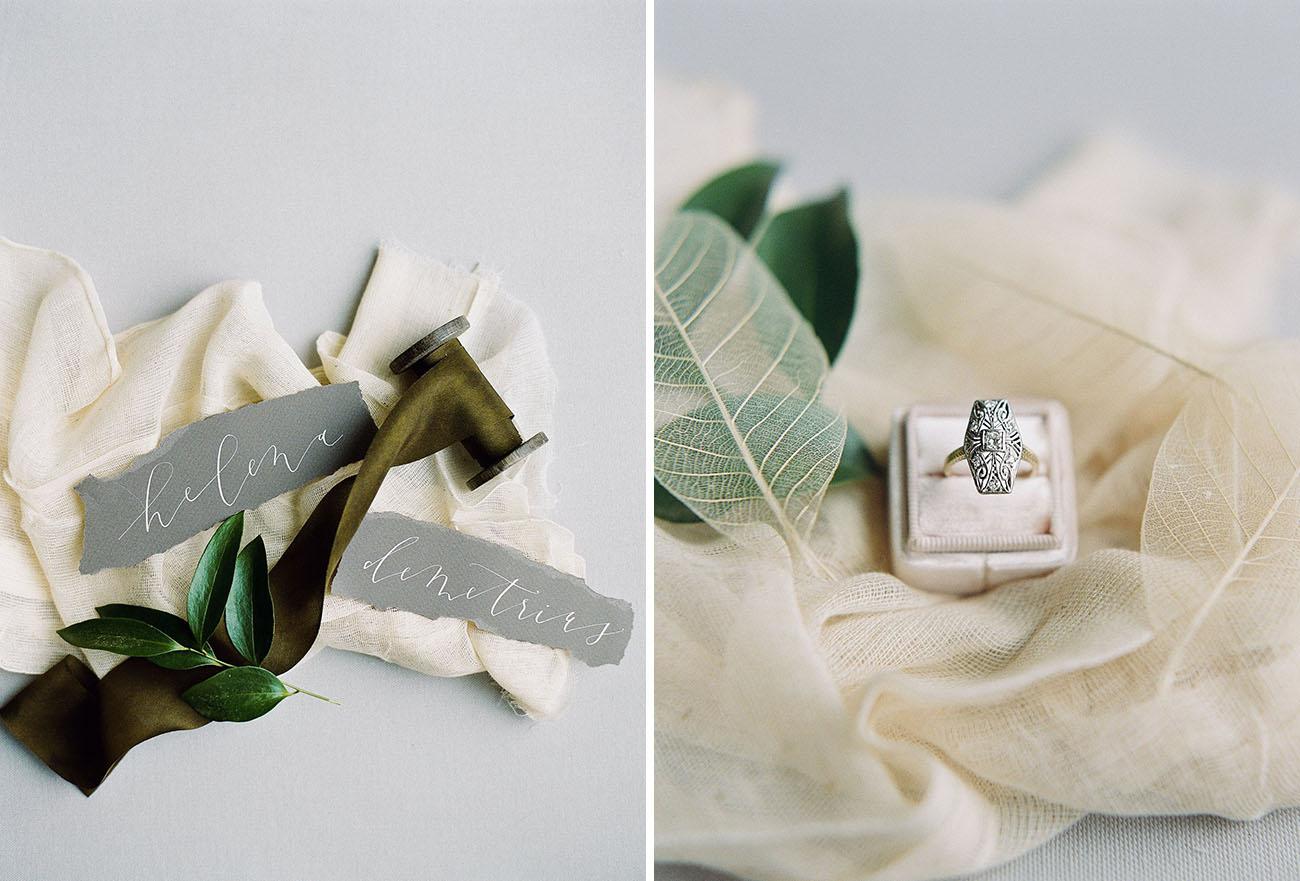 Modern Midsummer Night\'s Dream Wedding Inspiration - Green Wedding Shoes