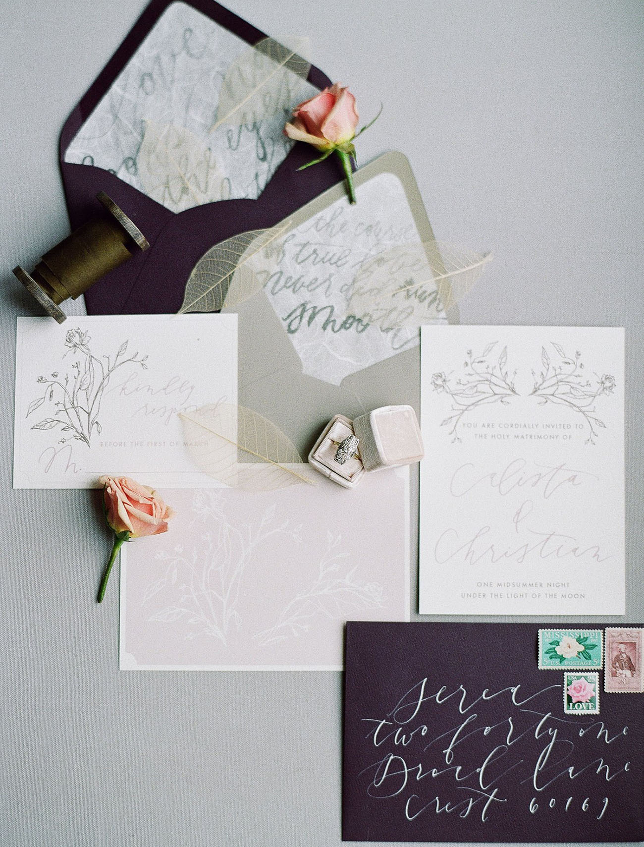 calligraphy invitation