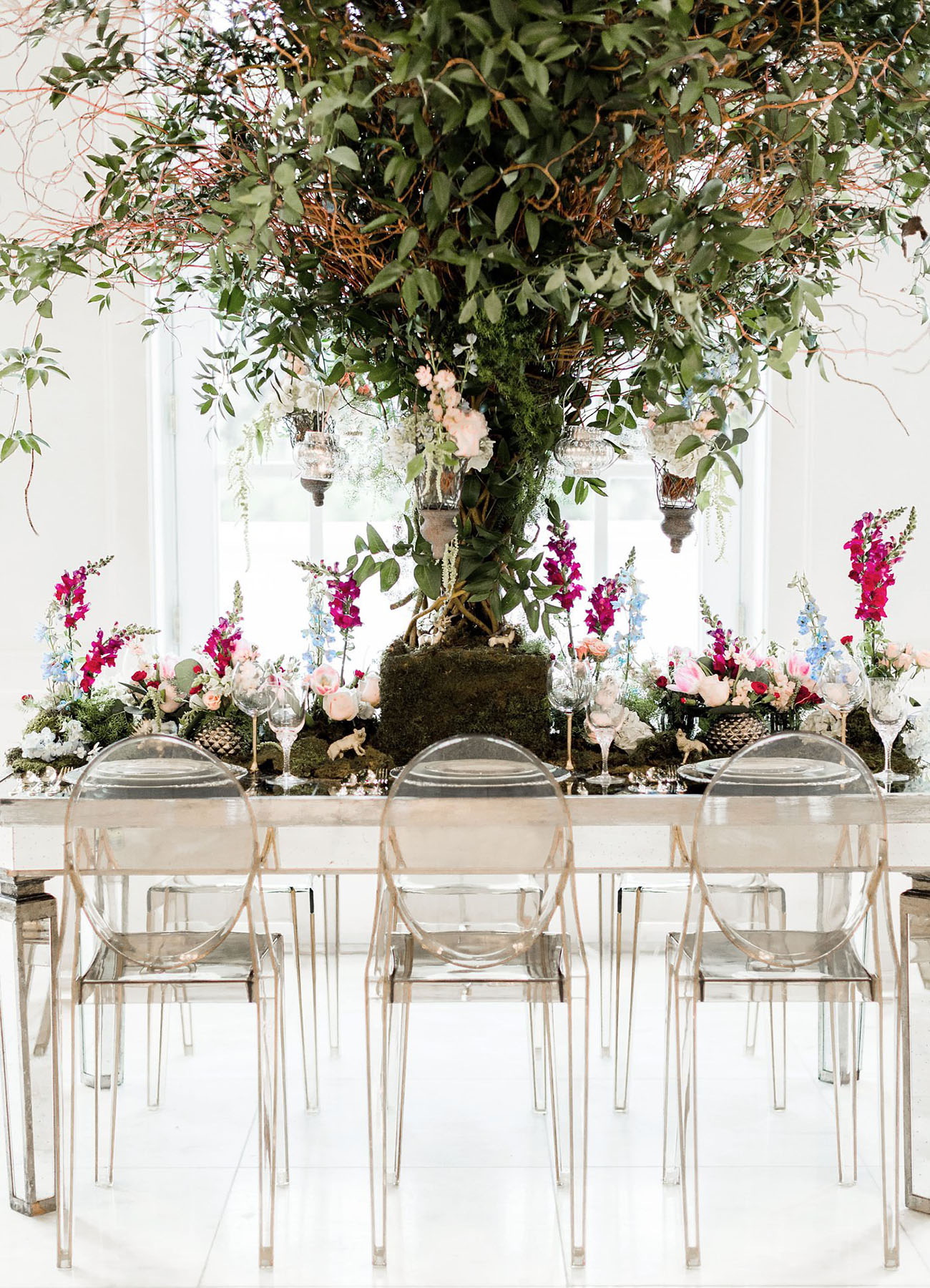 Modern Midsummer Wedding