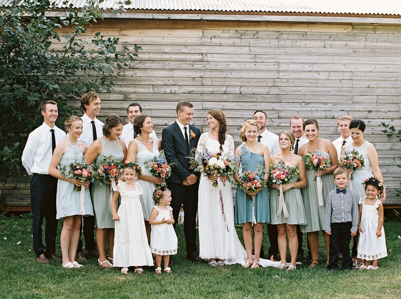 Country-Bohemian Montana Wedding: Hayley + Daniel