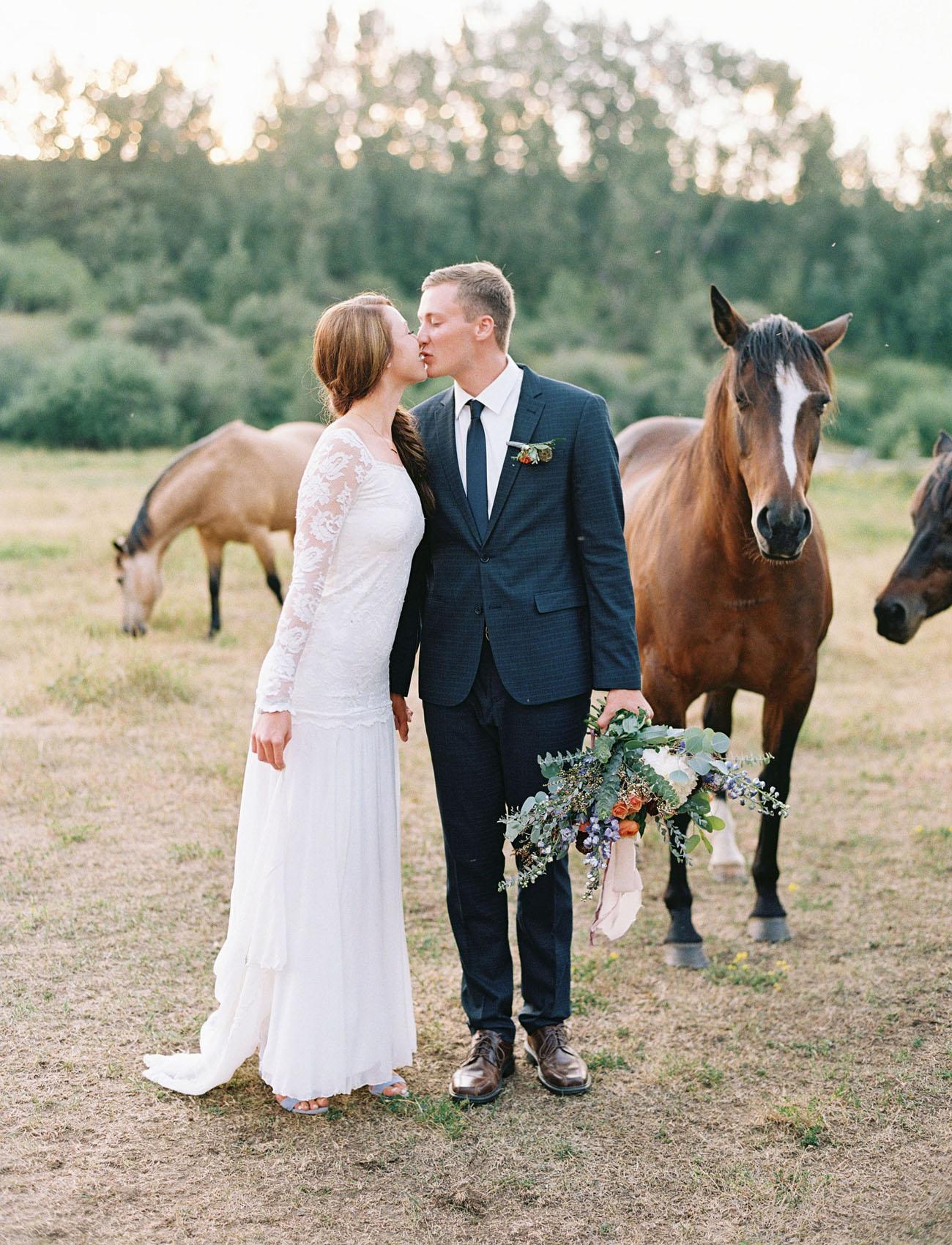 Rustic Montana Wedding