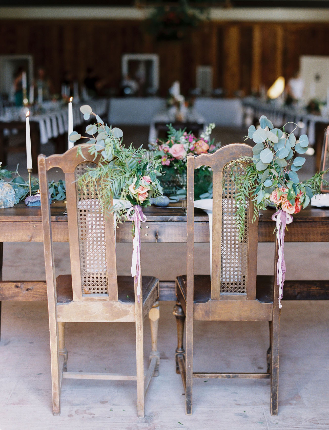 flower chair decor
