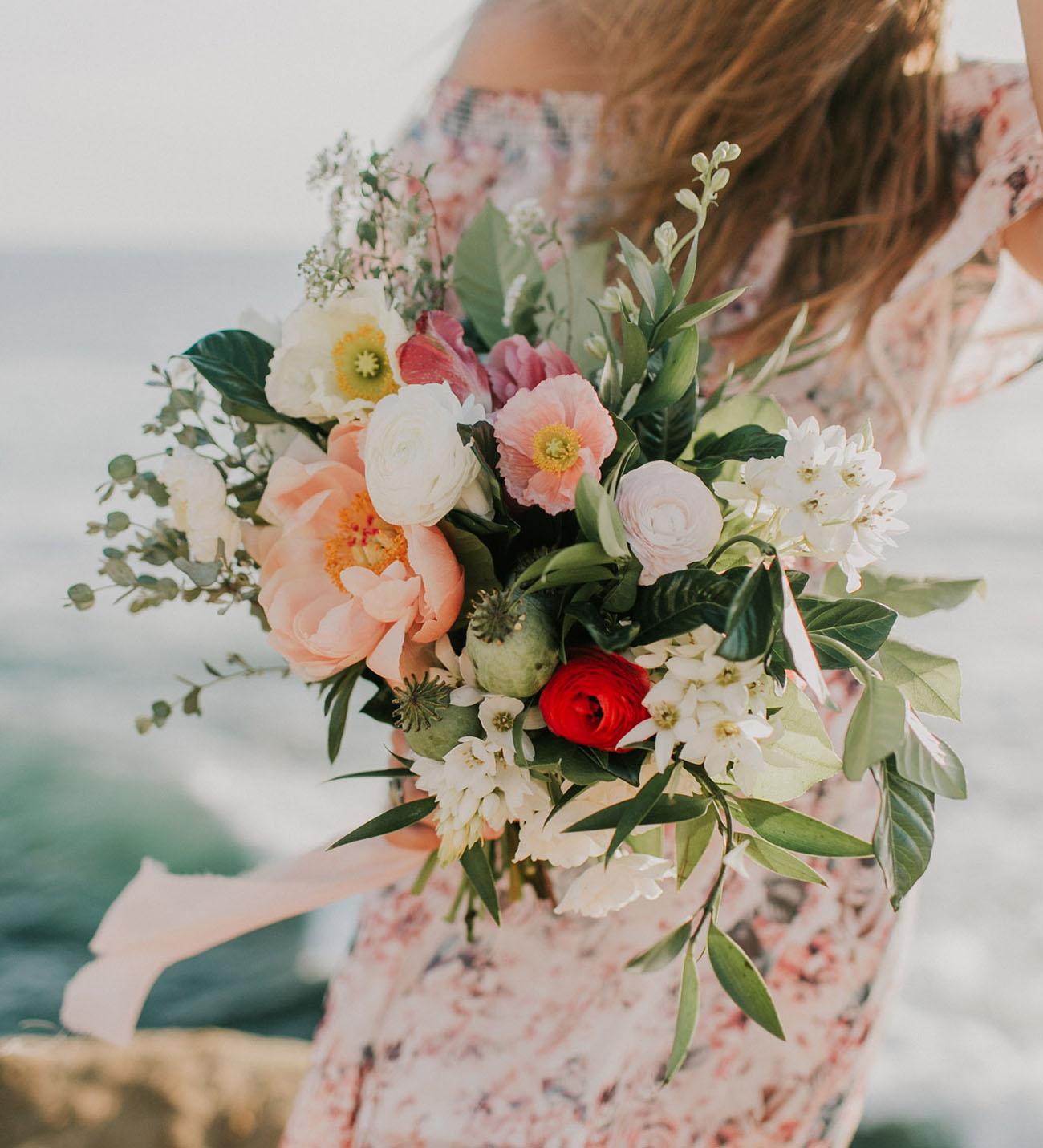 Spring Poppy Bouquet