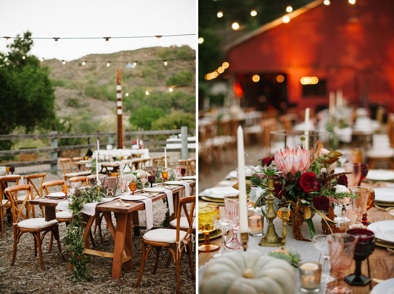 Fall Ojai Wedding
