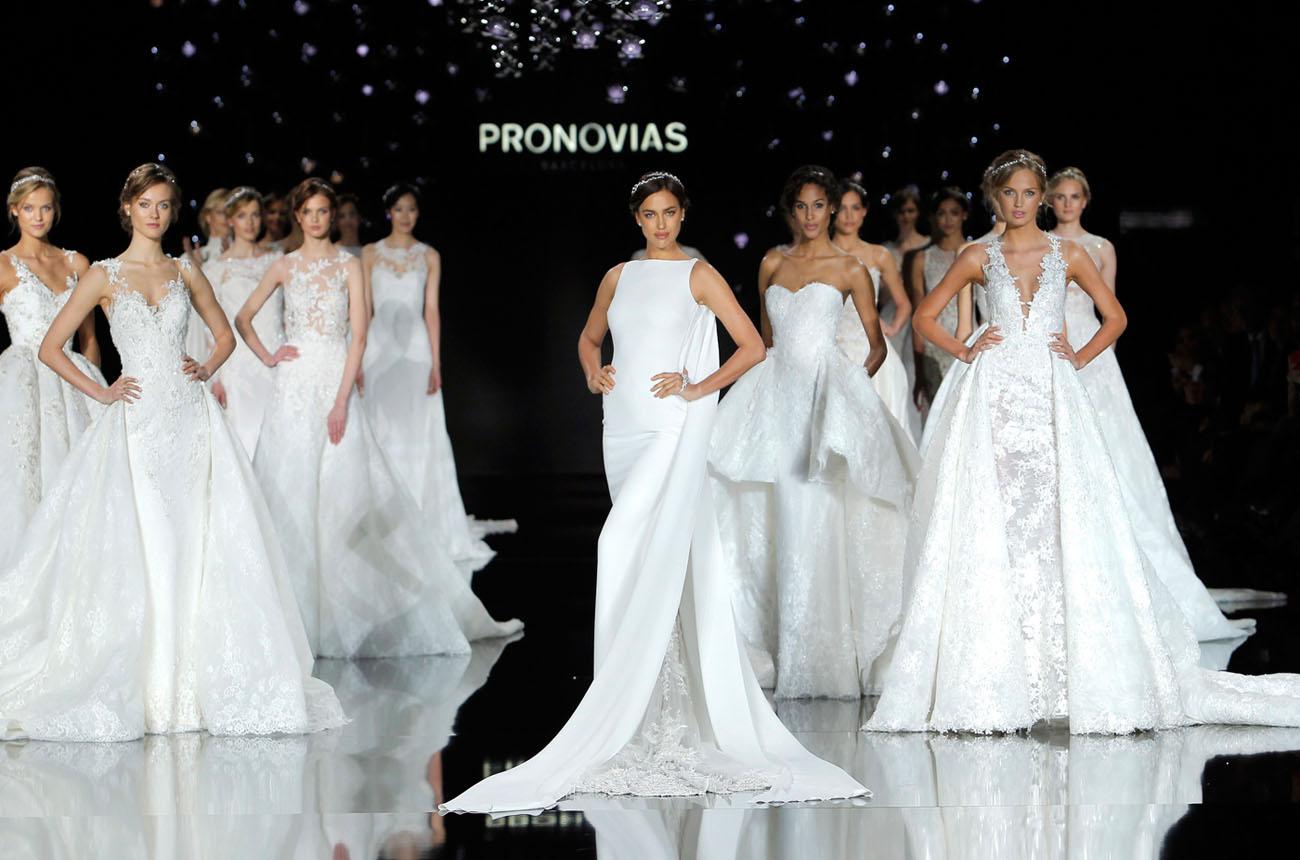 Pronovias 2019 Wedding Dresses: Pronovias Runway Show From Barcelona Bridal Week 2016