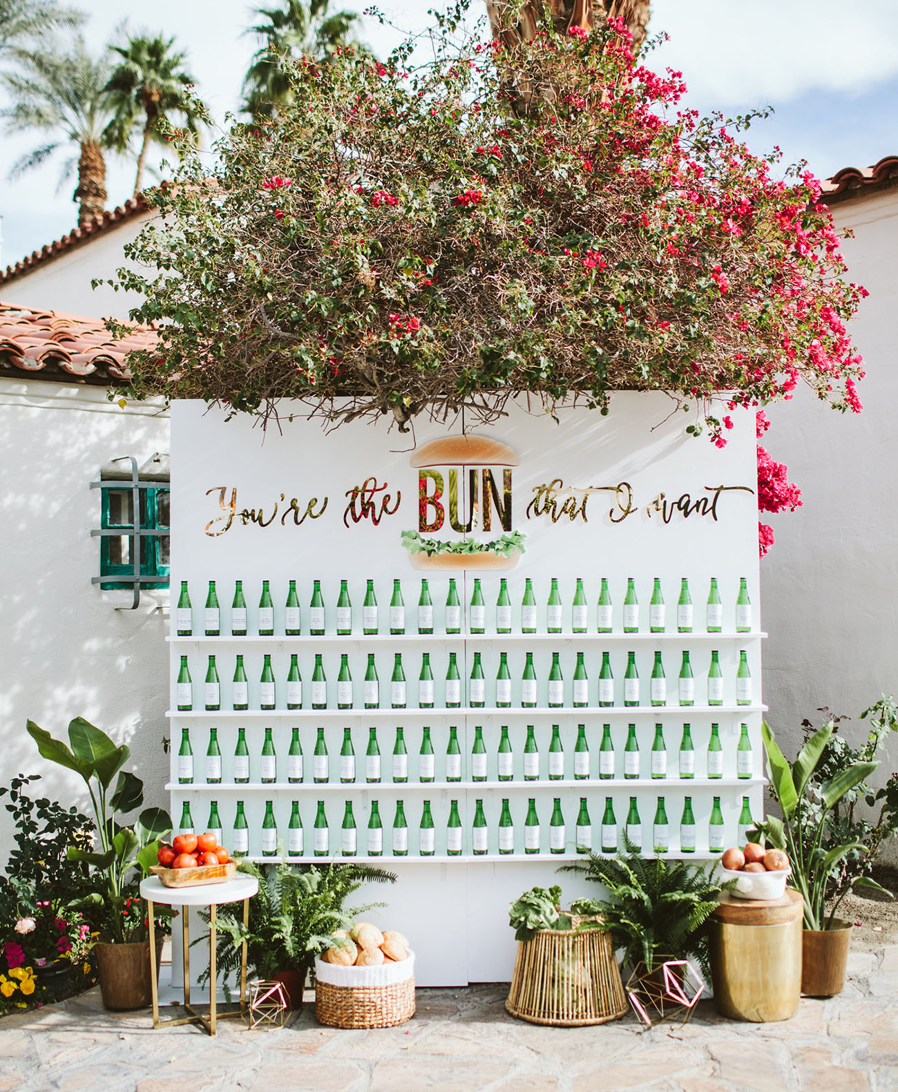 bottle wedding favors