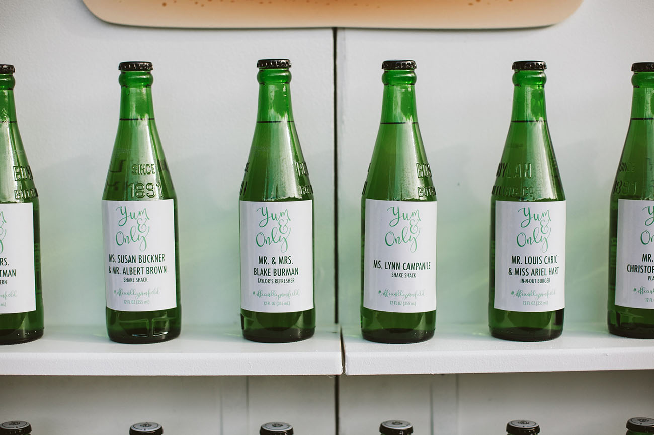 bottle favors