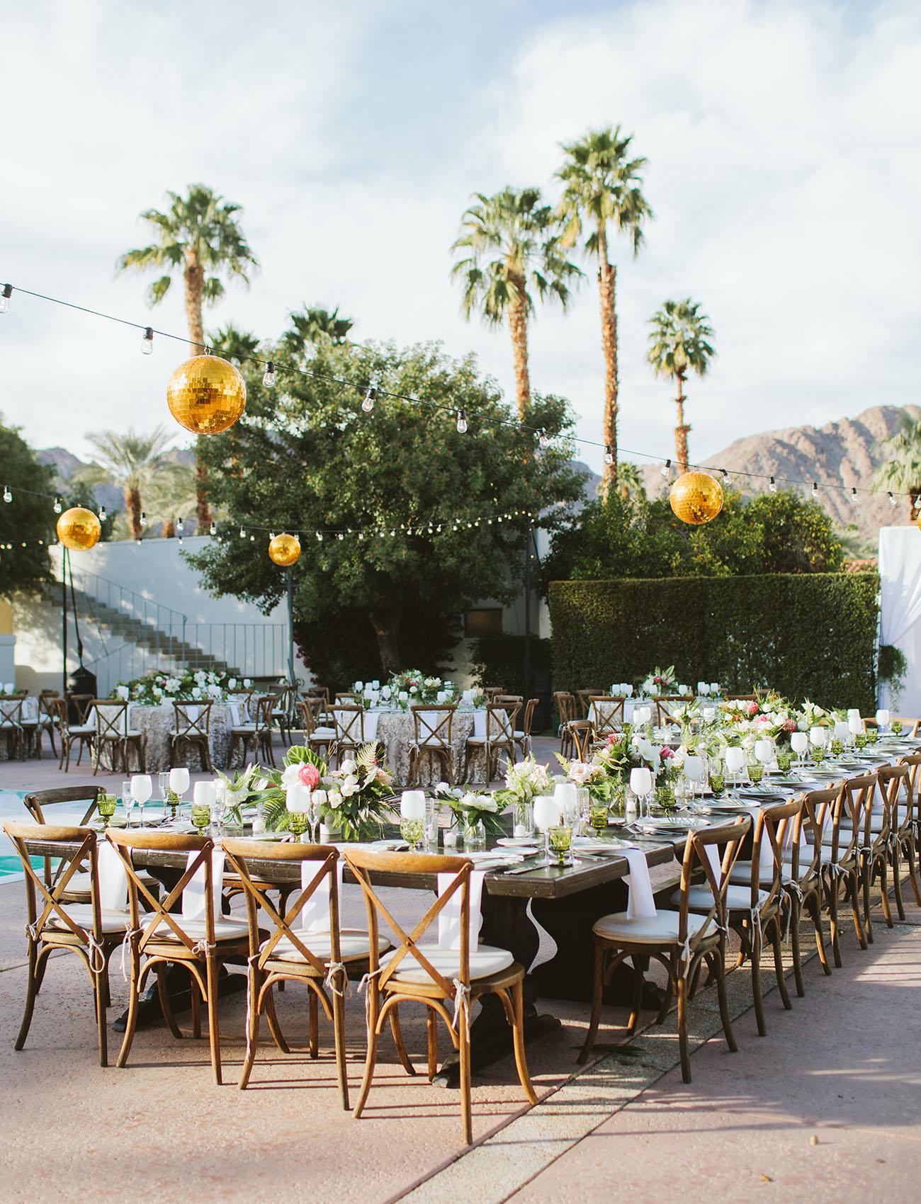 Punny Desert Wedding