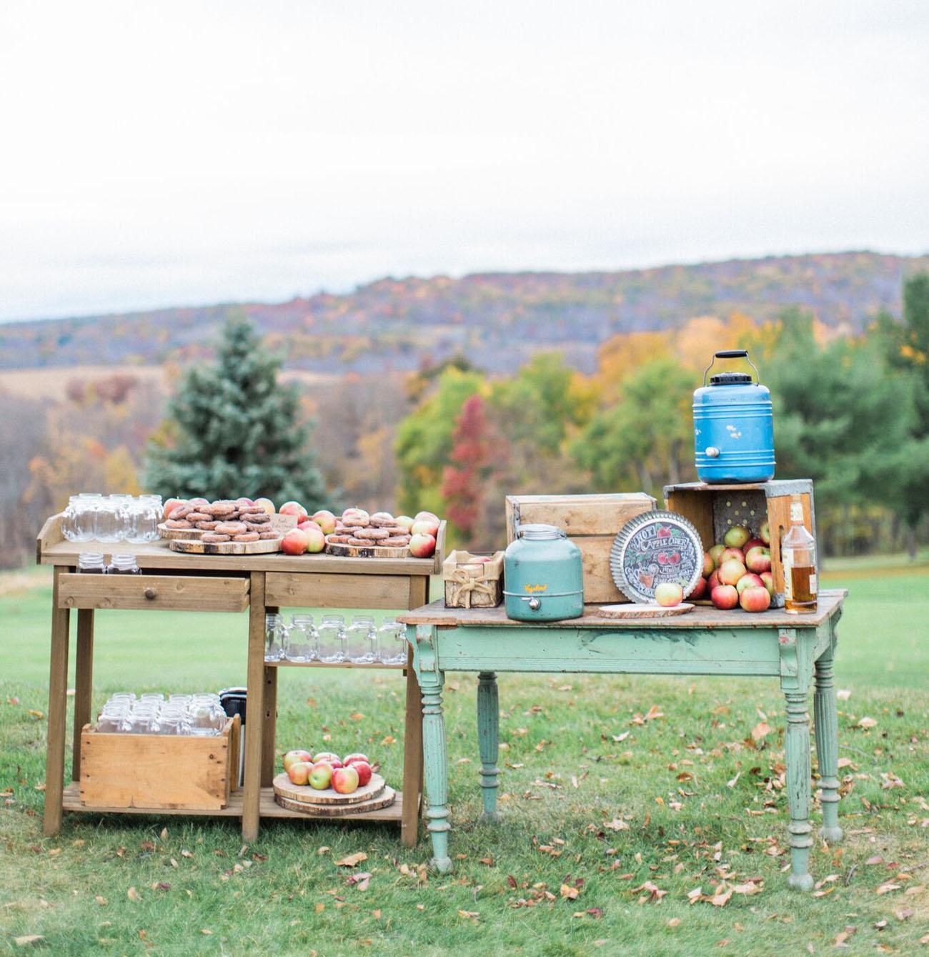 apple cider table