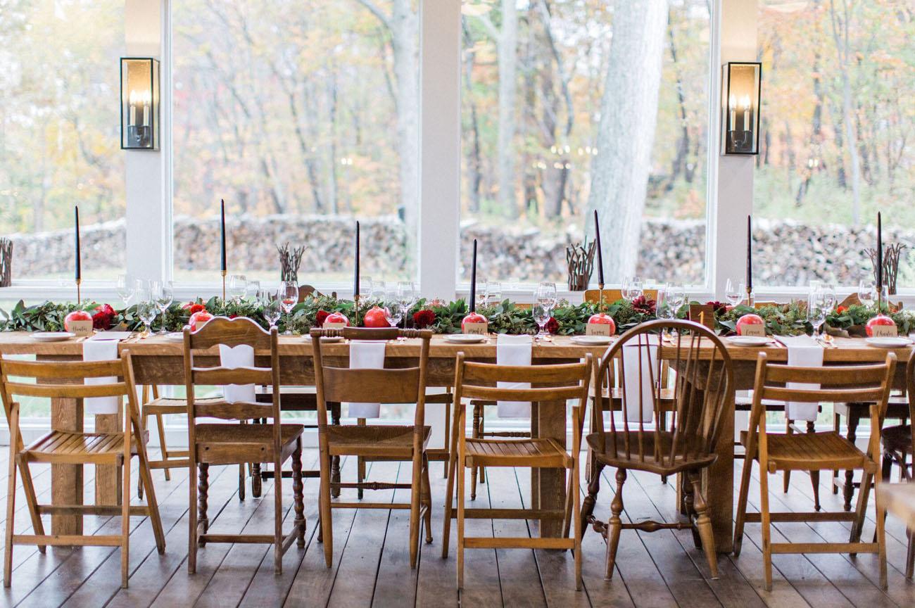 Fall New York Wedding