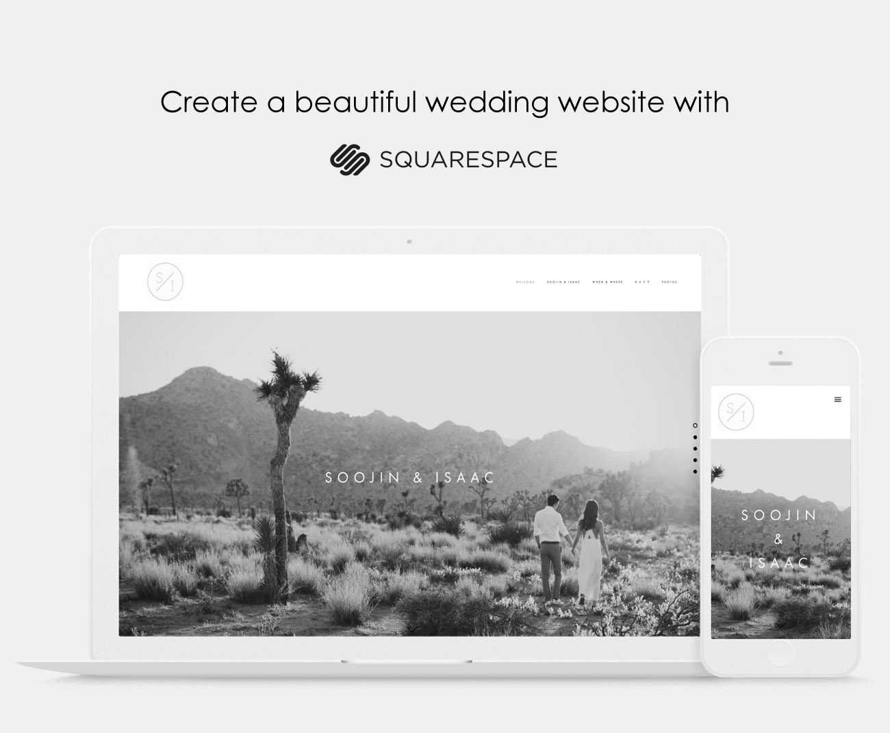 Create a Wedding Website with Squarespace