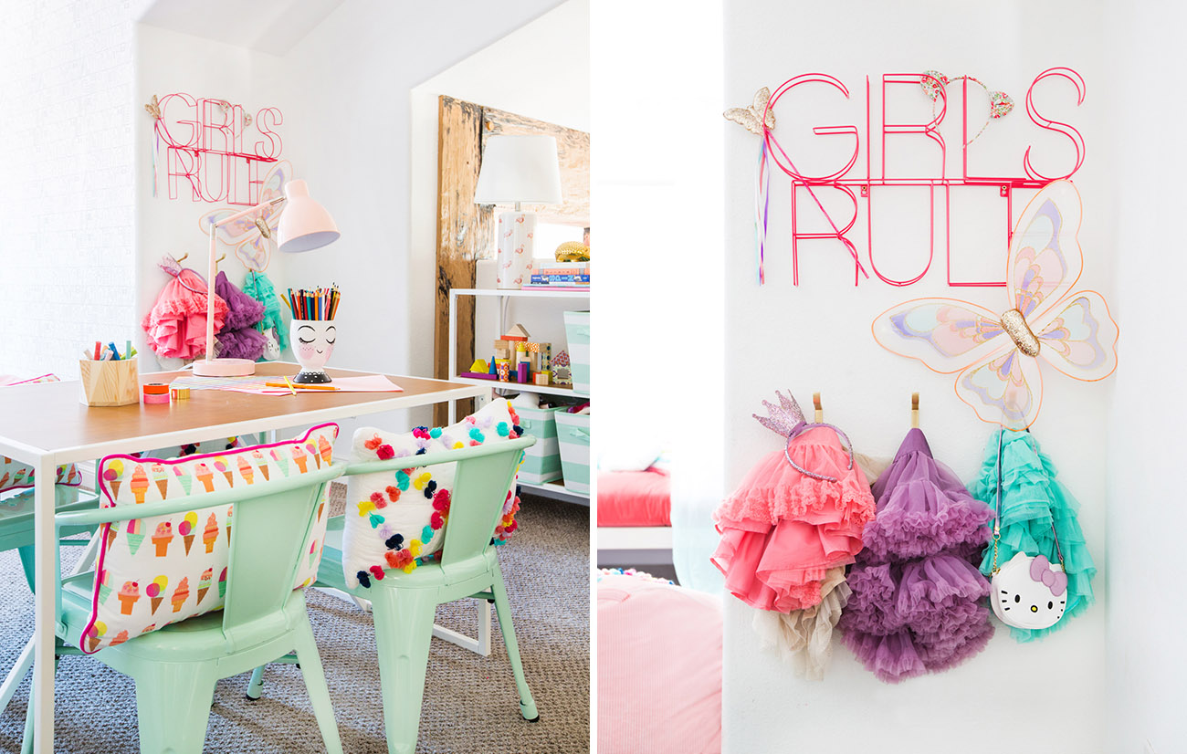 target pillowfort playroom girls rule sign