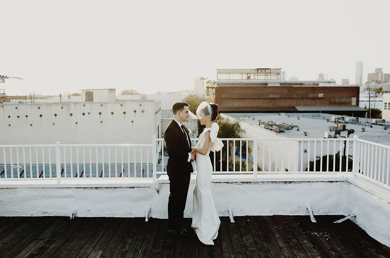 Modern LA Wedding
