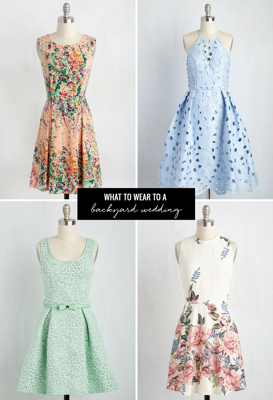 What To Wear To A Summer Wedding With ModCloth