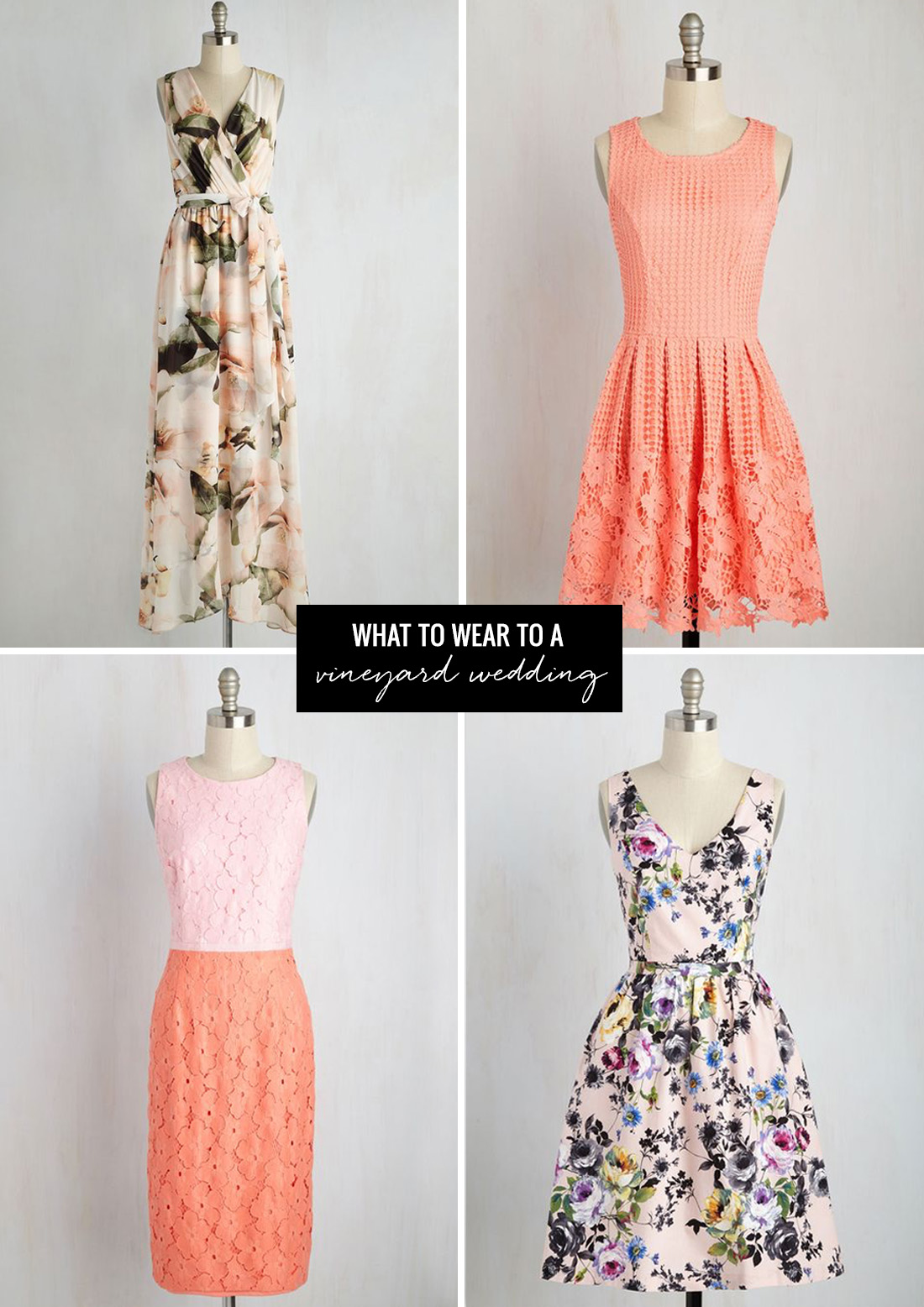 Dresses To Wear To Summer Weddings