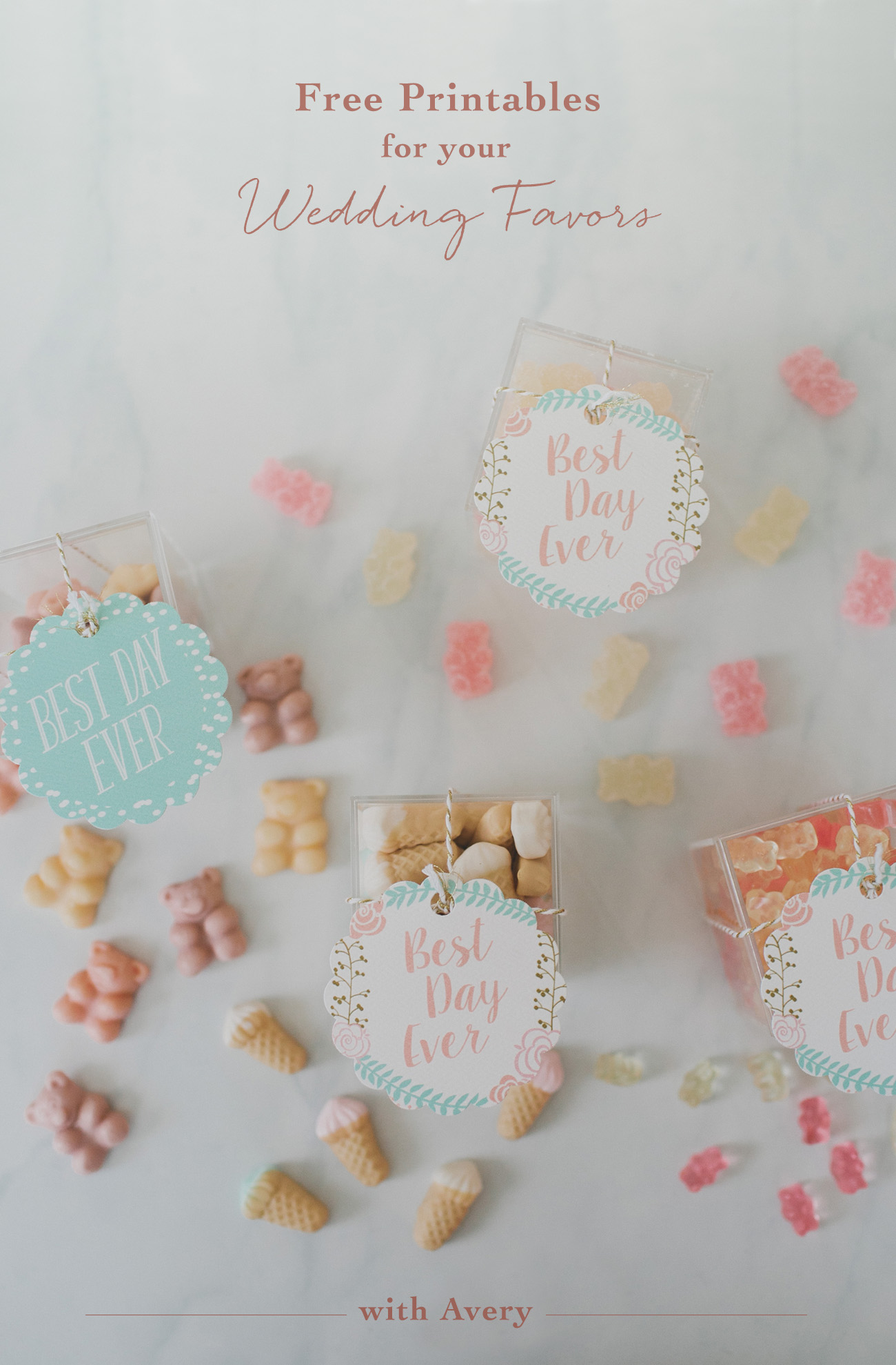 Wedding Favor Printables