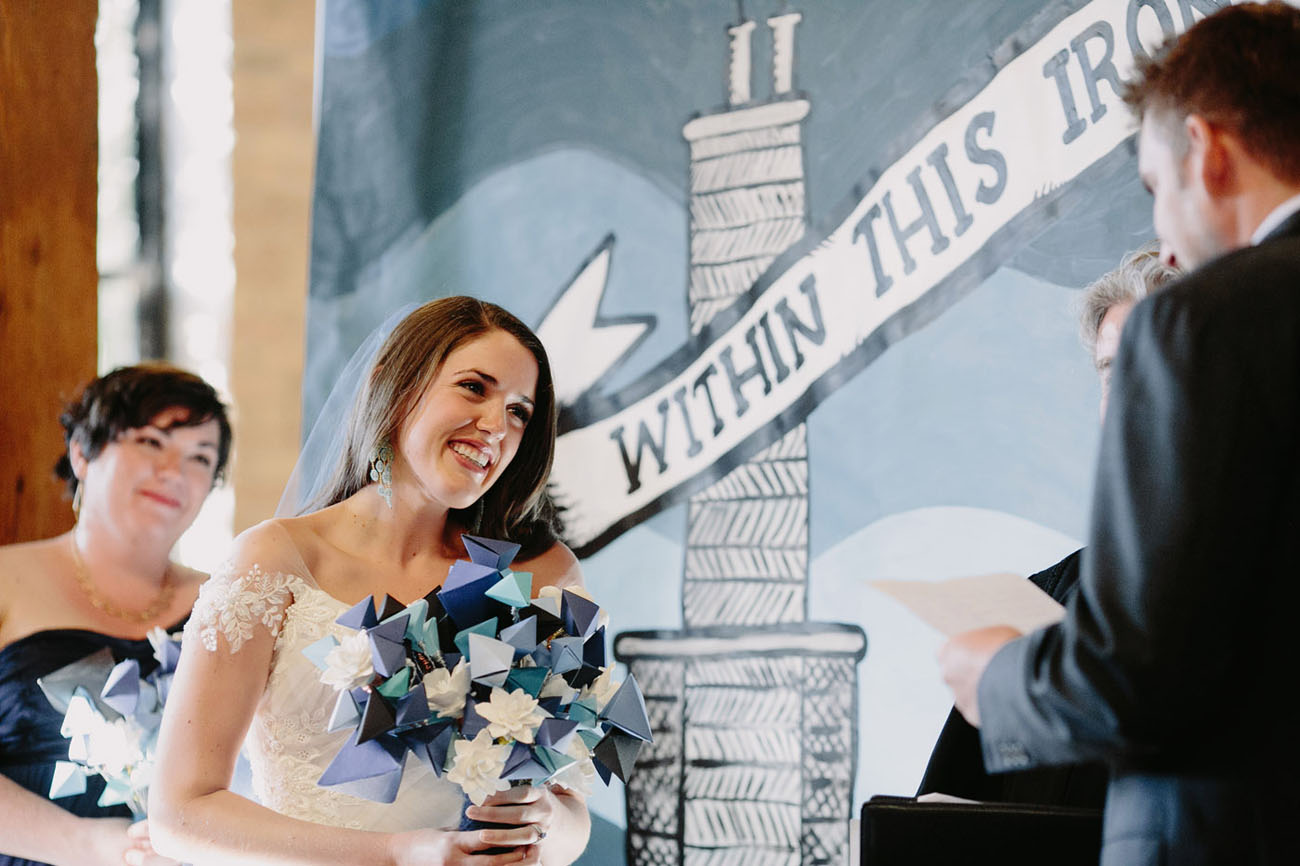 Chicago Art Wedding