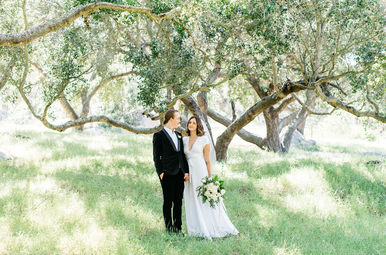Modern Botanical Wedding