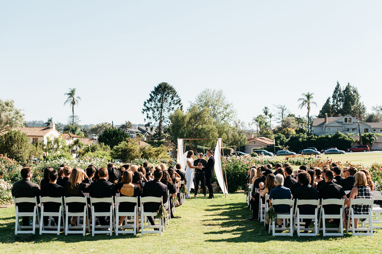 Modern Botanical Wedding