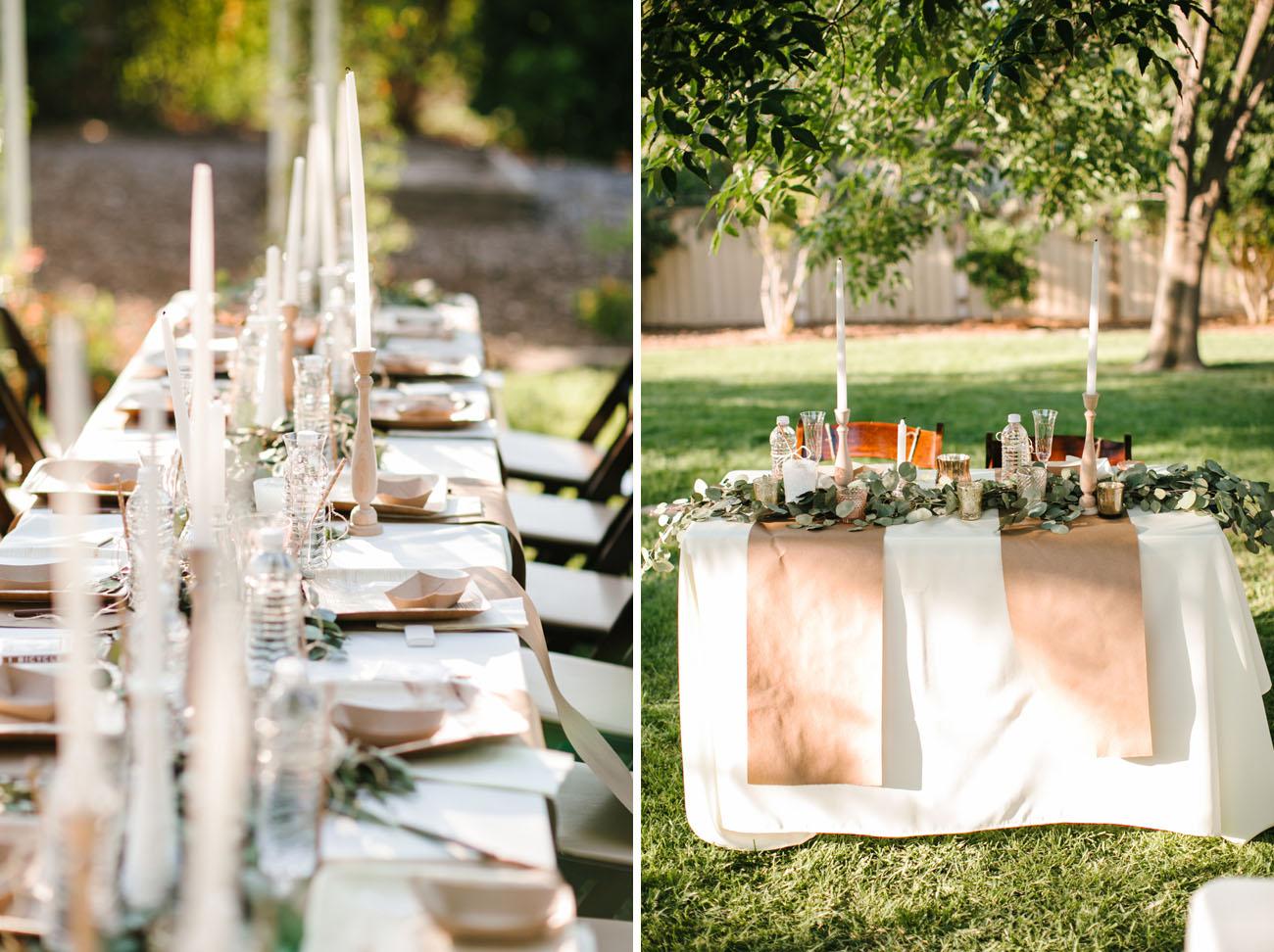 Garden Romance Wedding