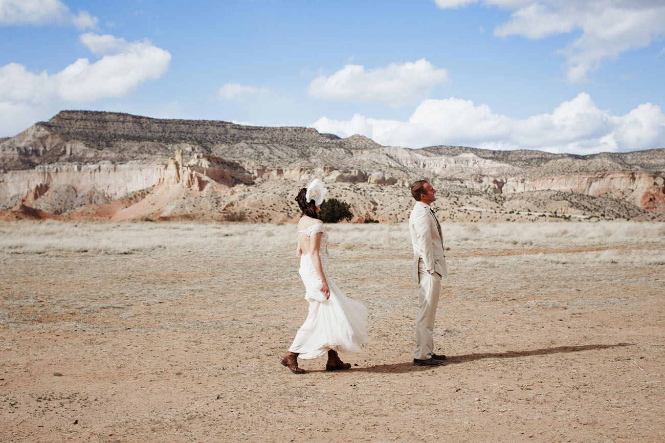 Ghost Ranch Wedding