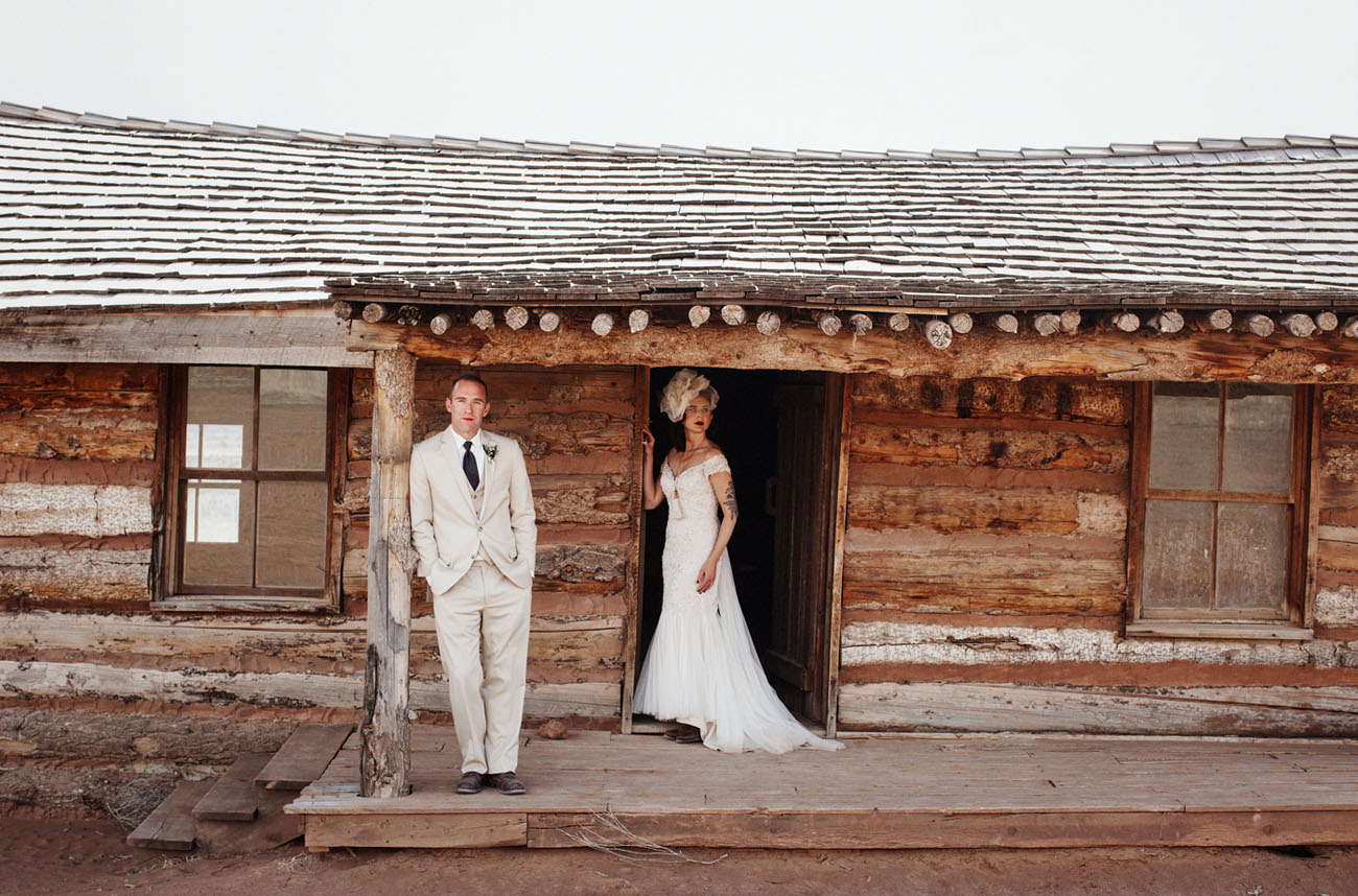 Vintage Ghost Ranch Wedding New Mexico Amanda Ryan