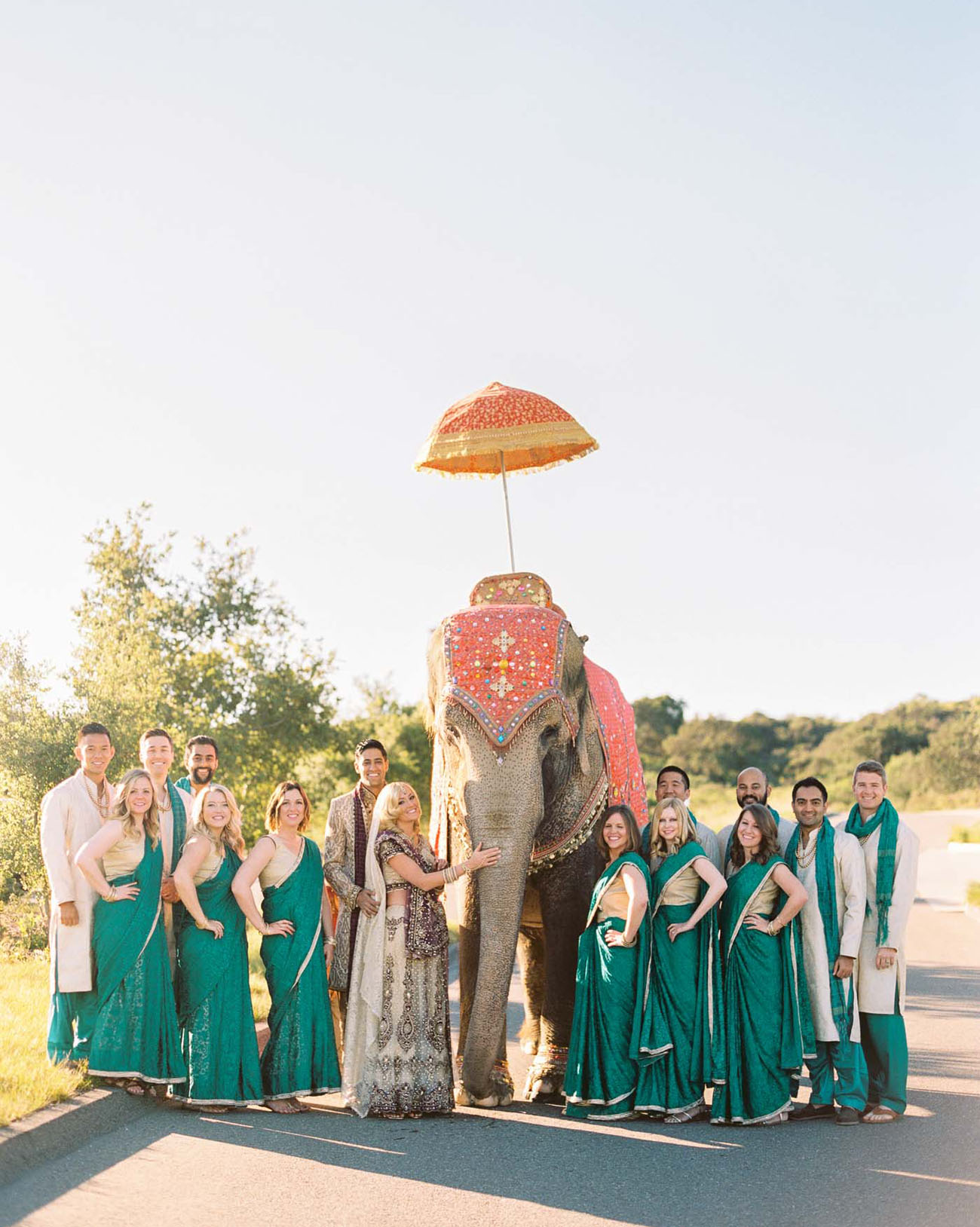 bright colorful indian american wedding sarah sunny