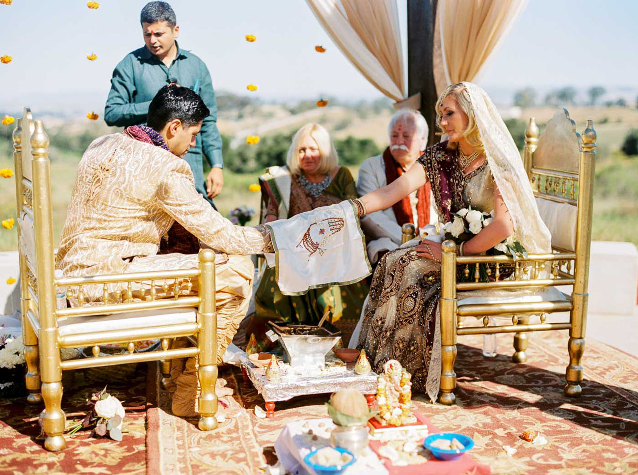 indian wedding traditions in america