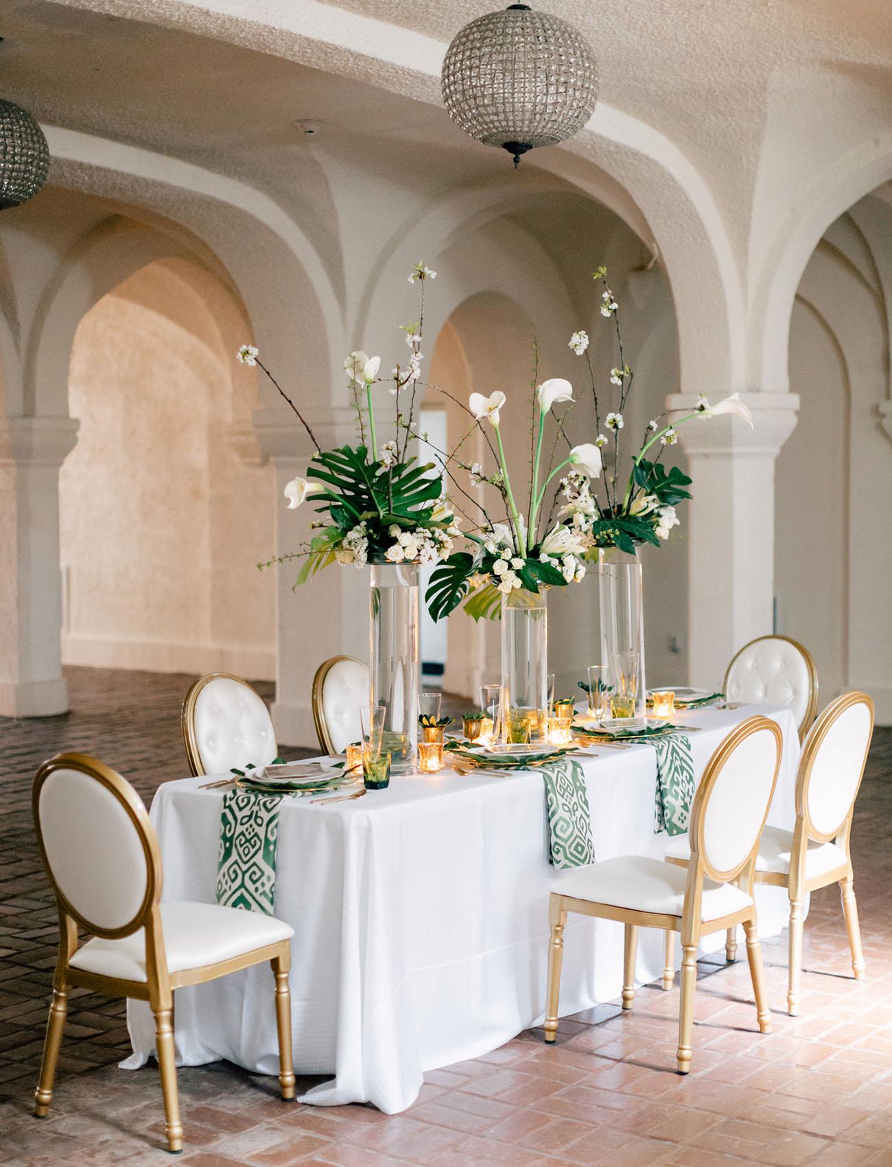 Modern Art Deco Wedding Inspiration Green Wedding Shoes