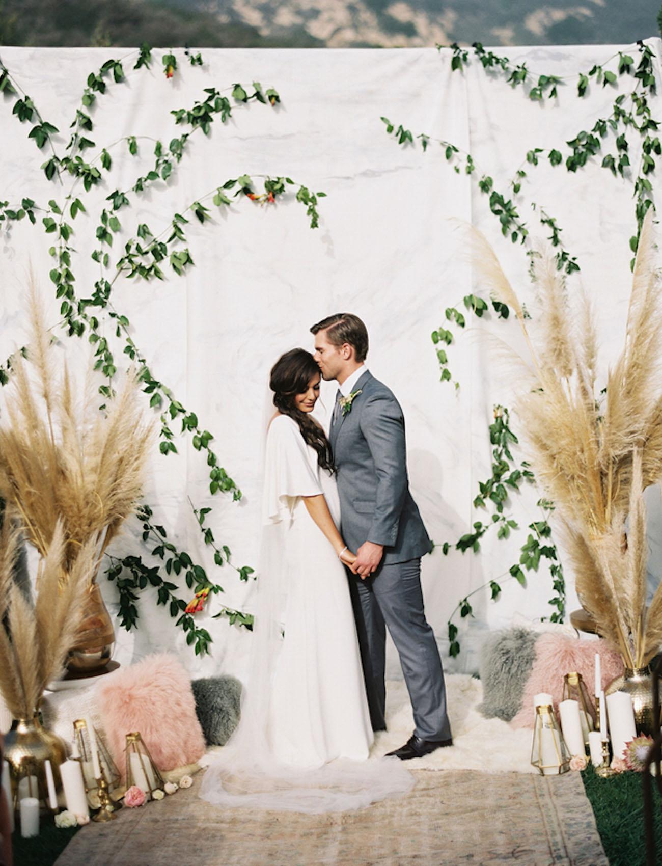 vine wall backdrop