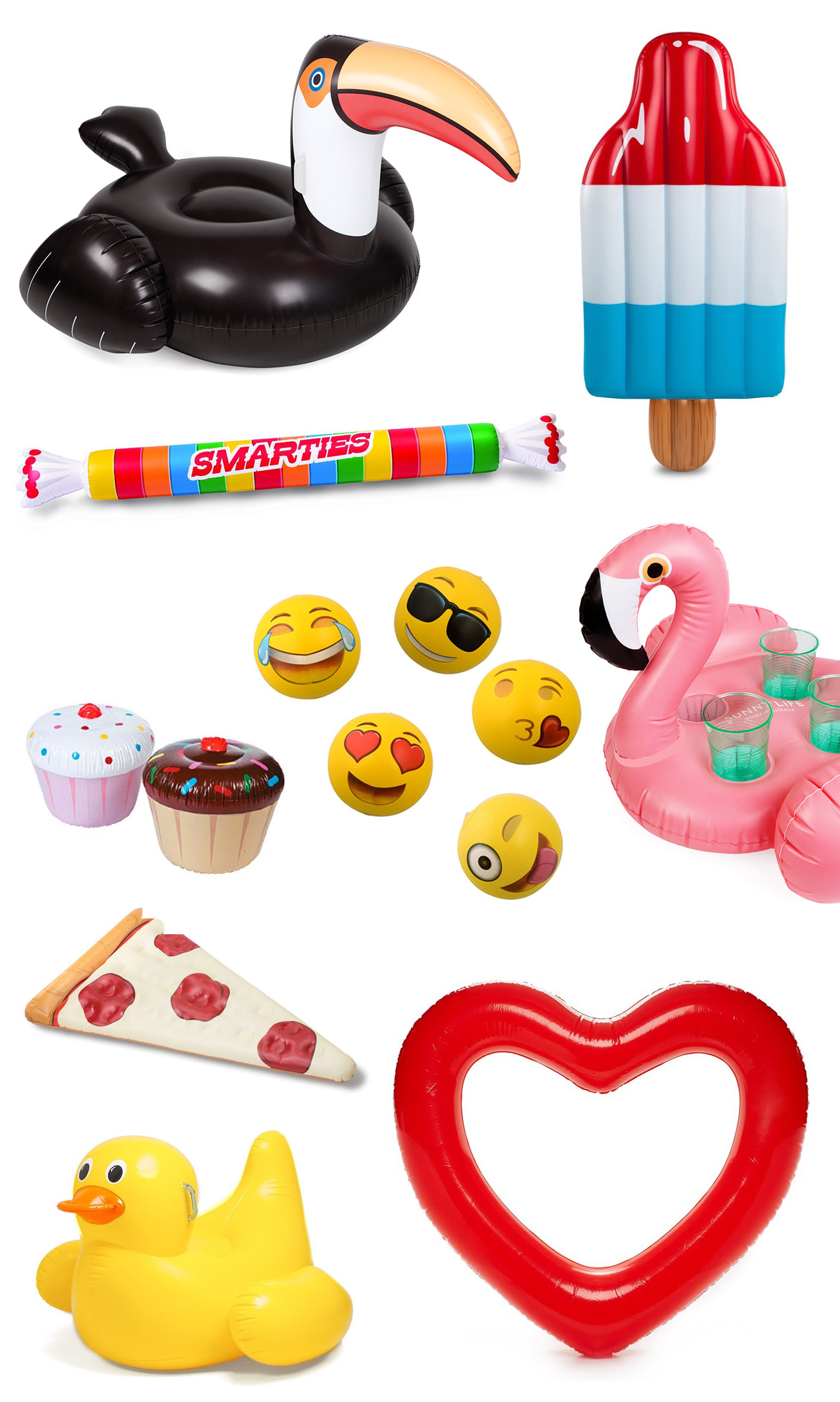 Pool Floats for Summer Parties
