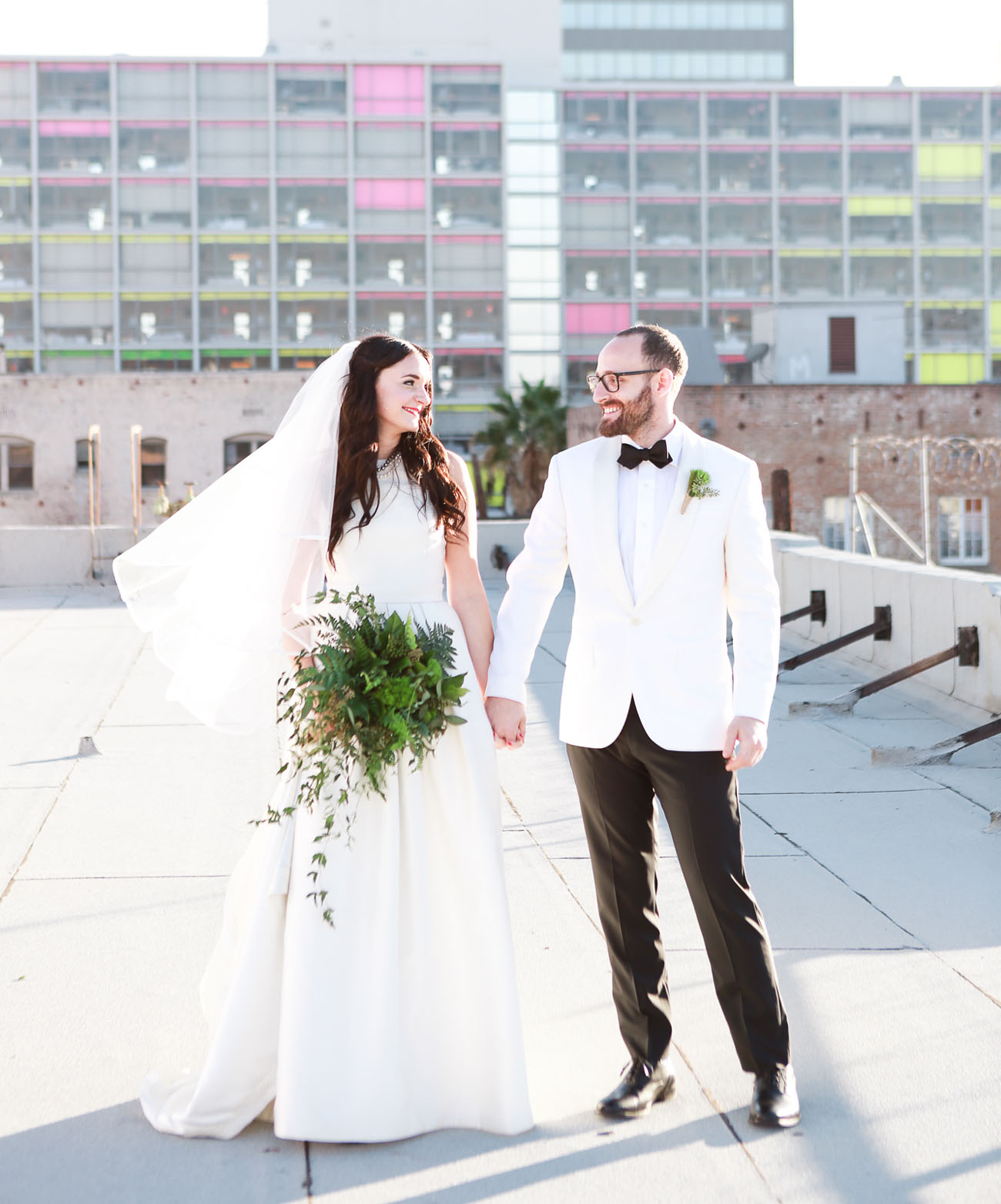 Los Angeles Rooftop Wedding
