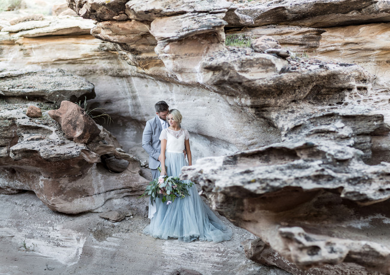 Desert Wedding Inspiration At Zion National Park Green