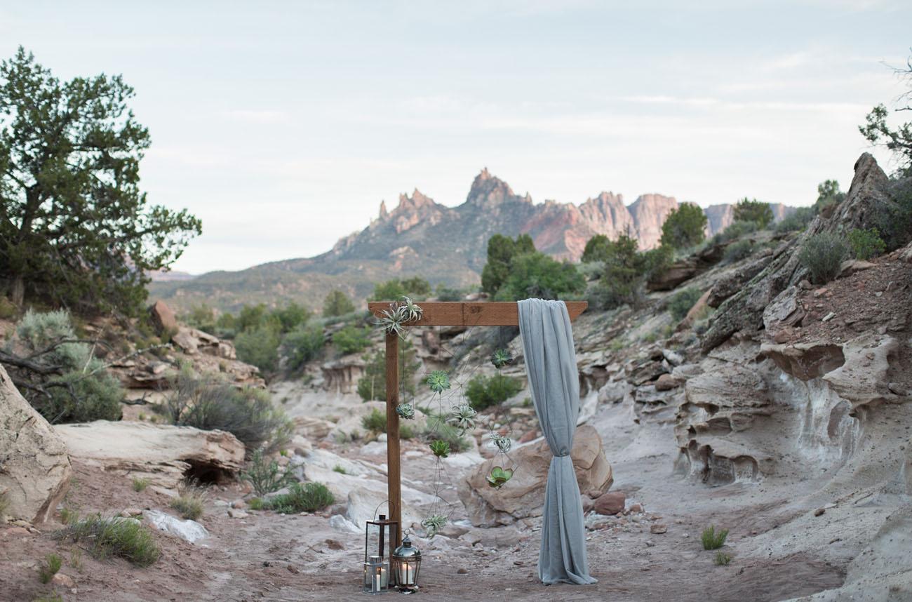 cerimônia de deserto