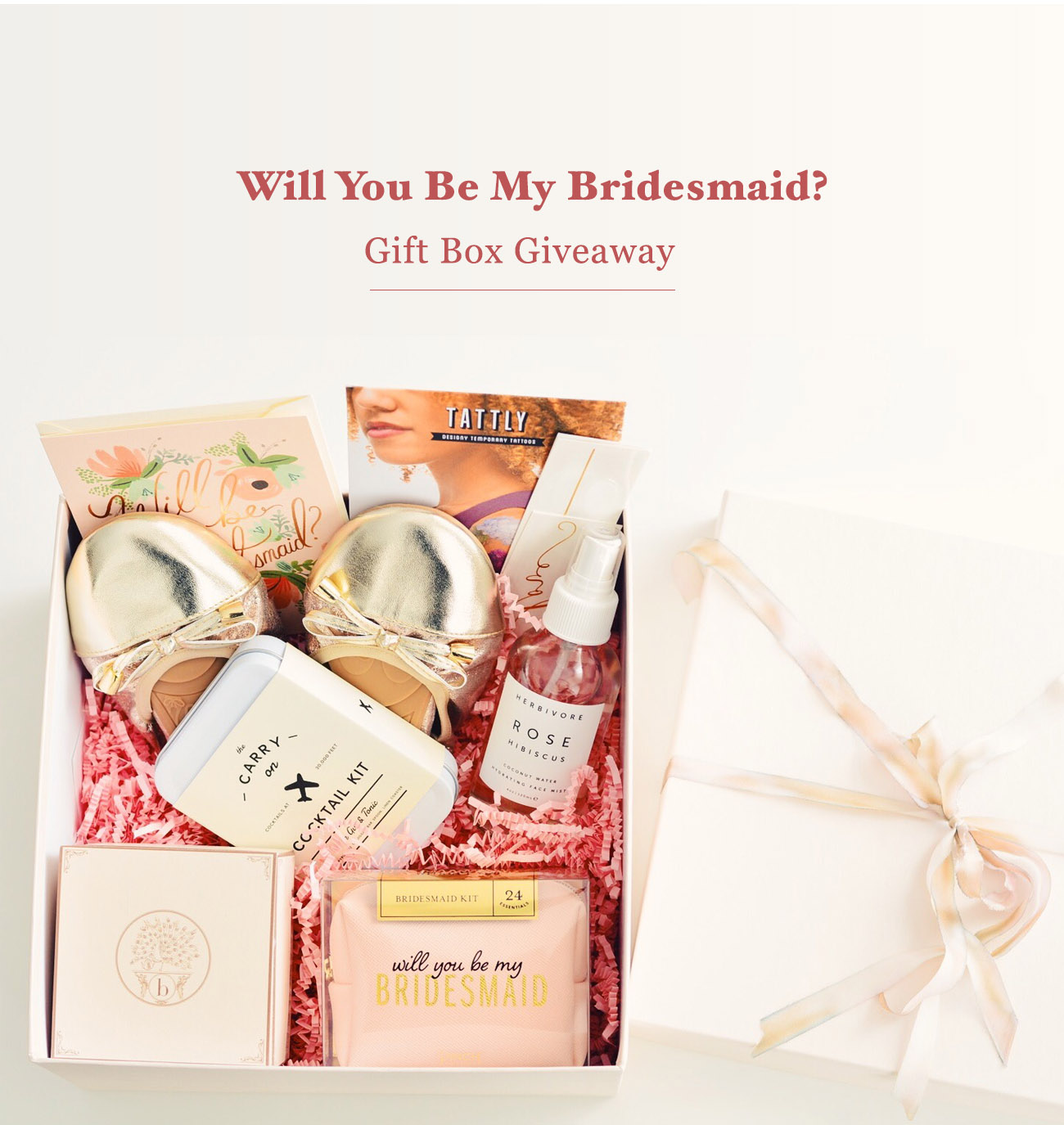 Bridesmaid Gift Box Giveaway from Bijou Candles