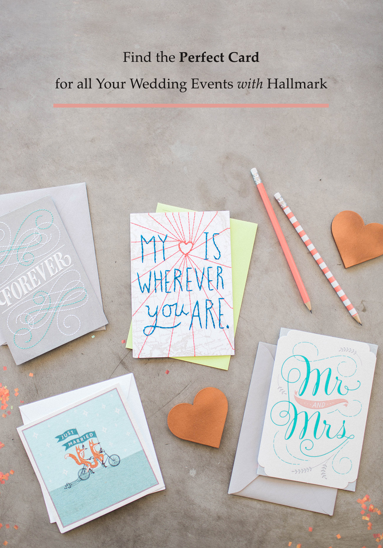 Hallmark Cards for Wedding Events