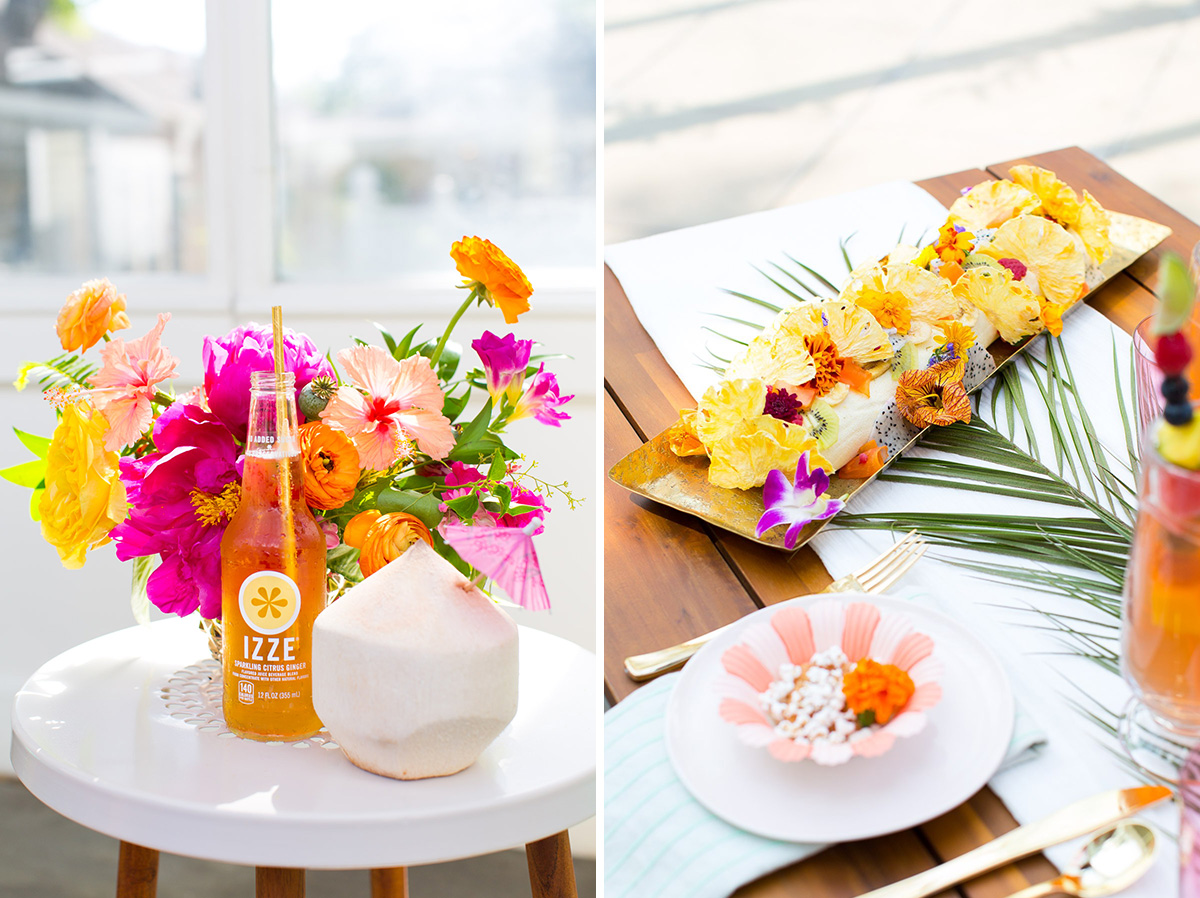 Tropical Bridal Shower: Tropical Greenhouse Bridal Shower Inspiration