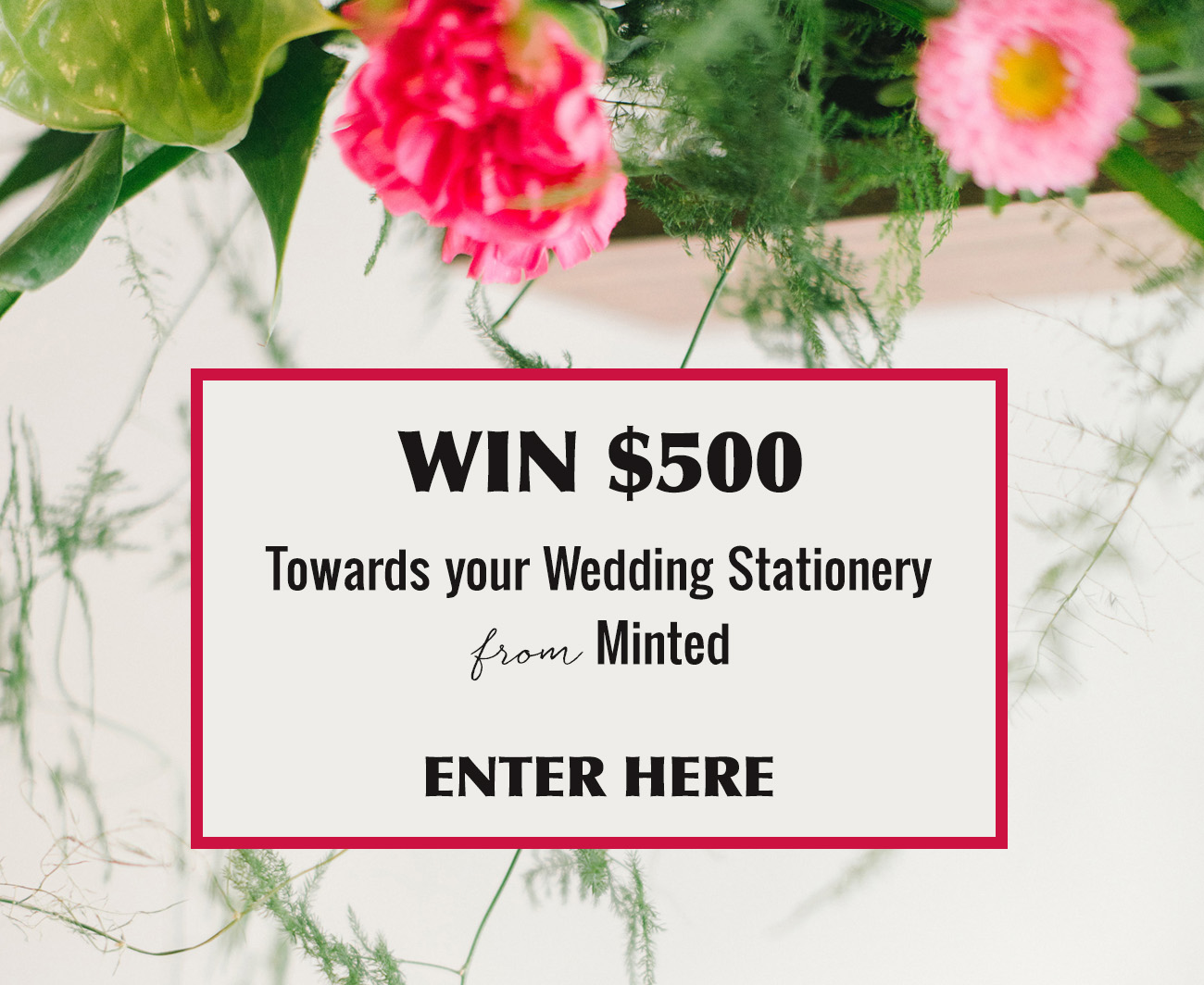 WIN $500 towards Minted Stationery