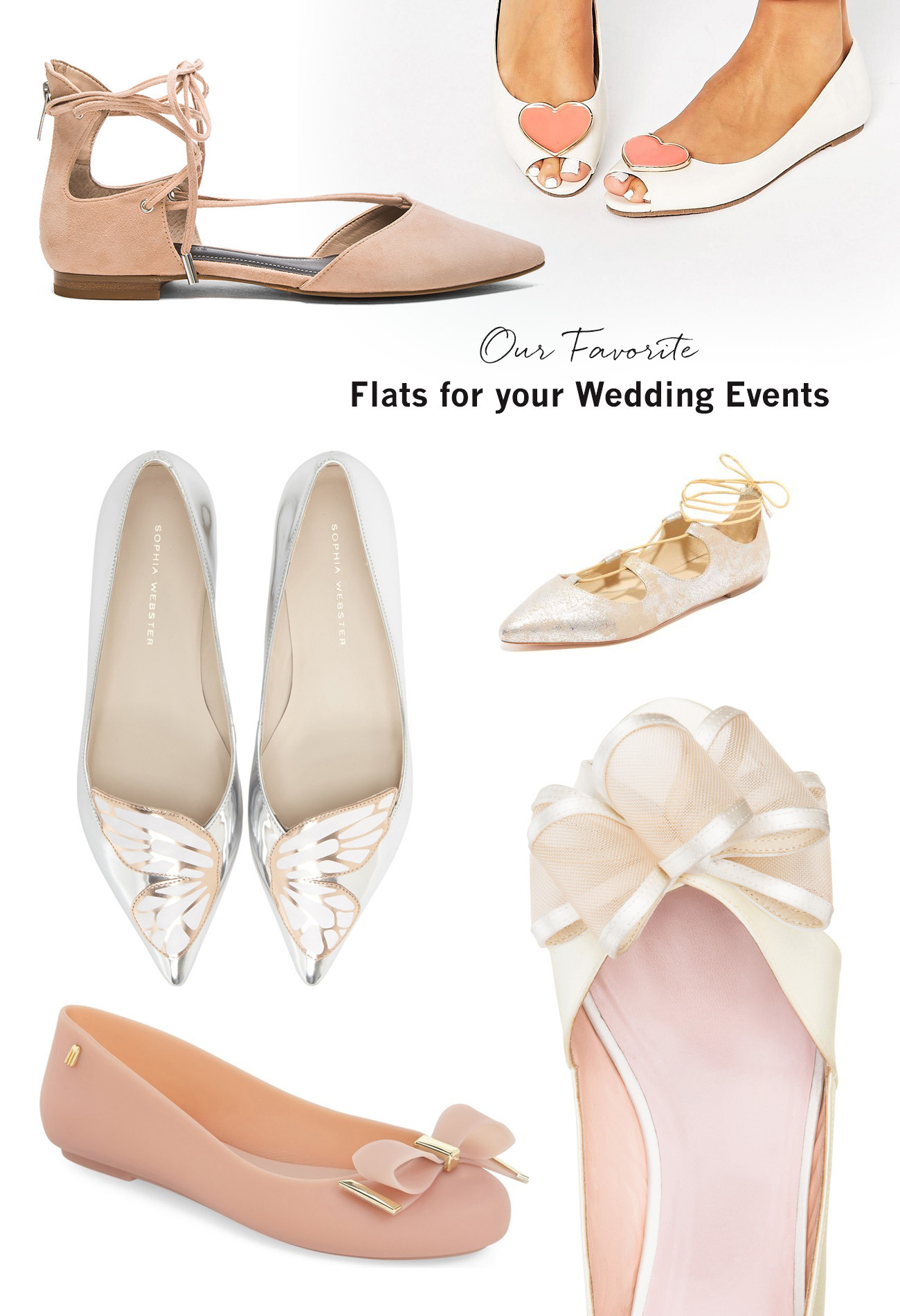 0a05696f0590f Our Favorite Flats for your Wedding - Green Wedding Shoes