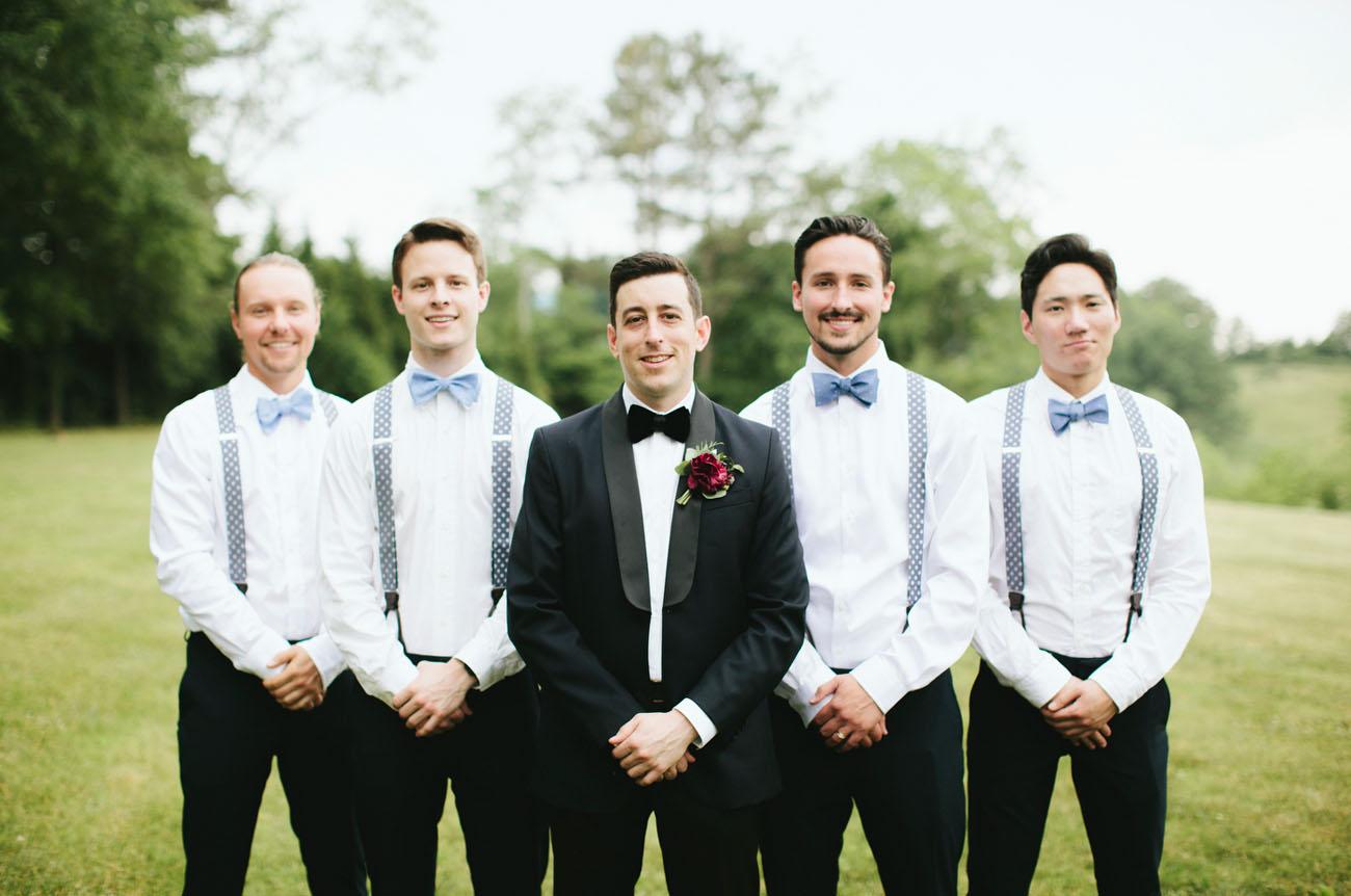 bow tie groomsmen