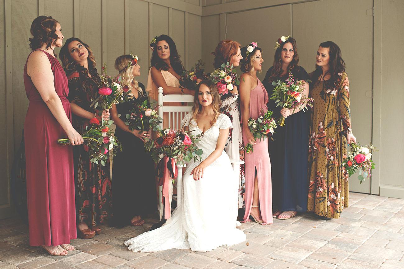 Bridesmaid Dresses For Spring Wedding 99 Cool jewel tone bridesmaids