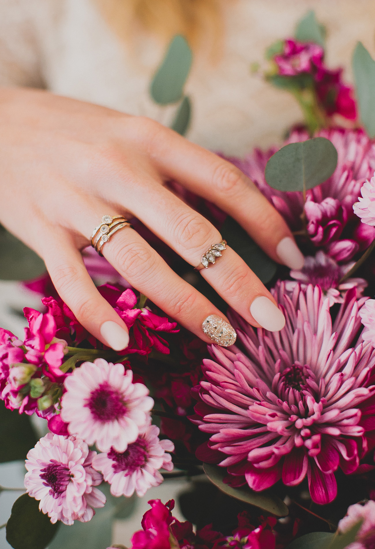 Pretty Nails For All Your Wedding Events With Impress Green