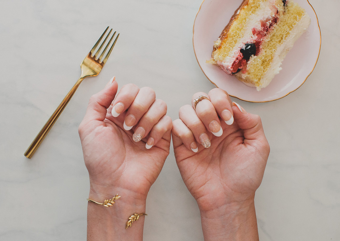 pretty nails for all your wedding events with impress